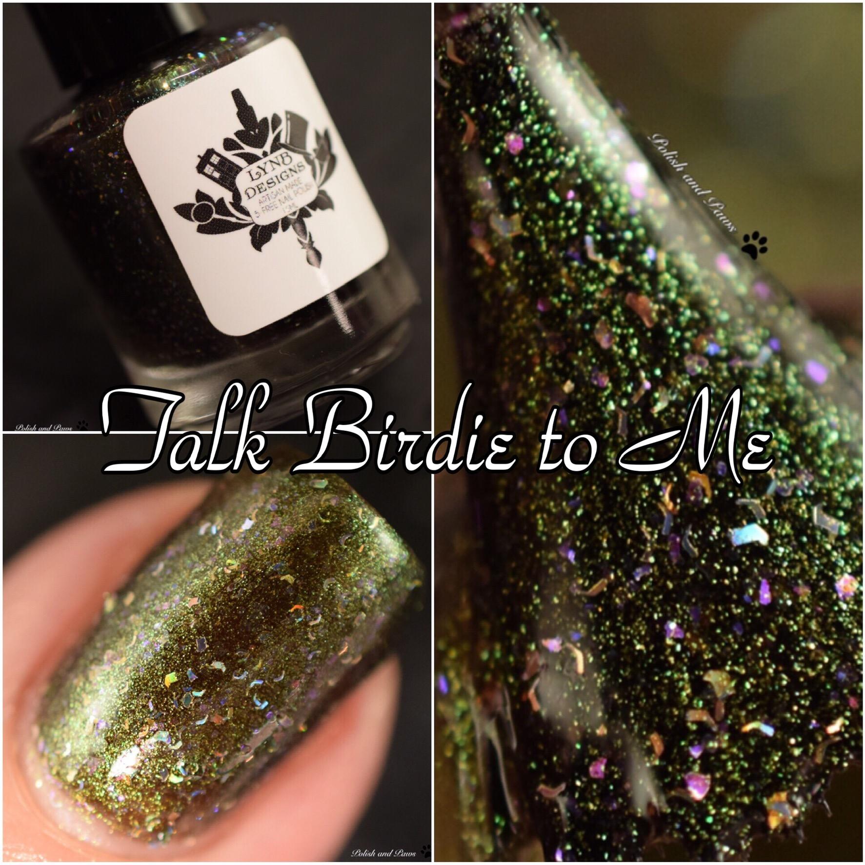 LynB Designs Talk Birdie to Me