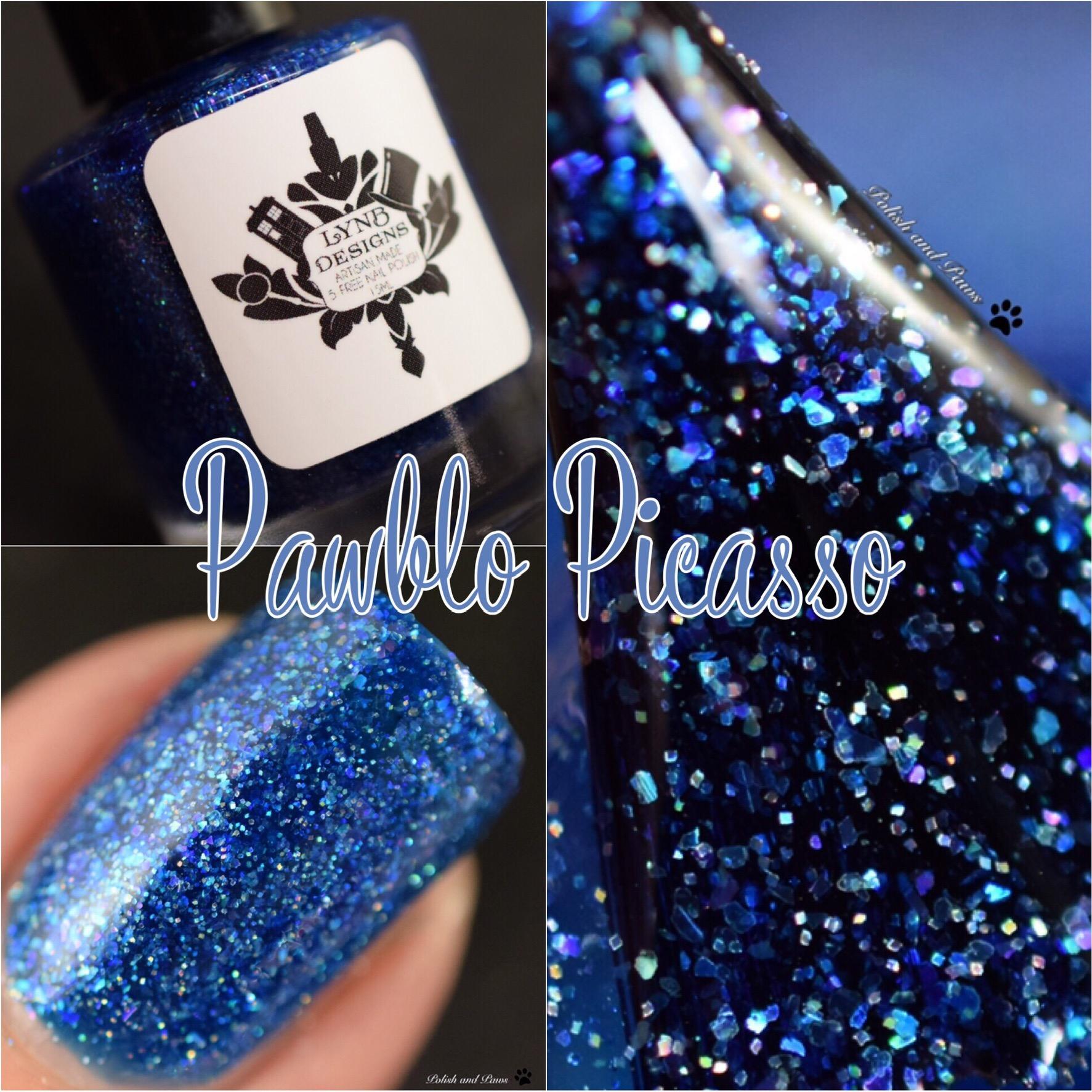 LynB Designs Pawblo Picasso
