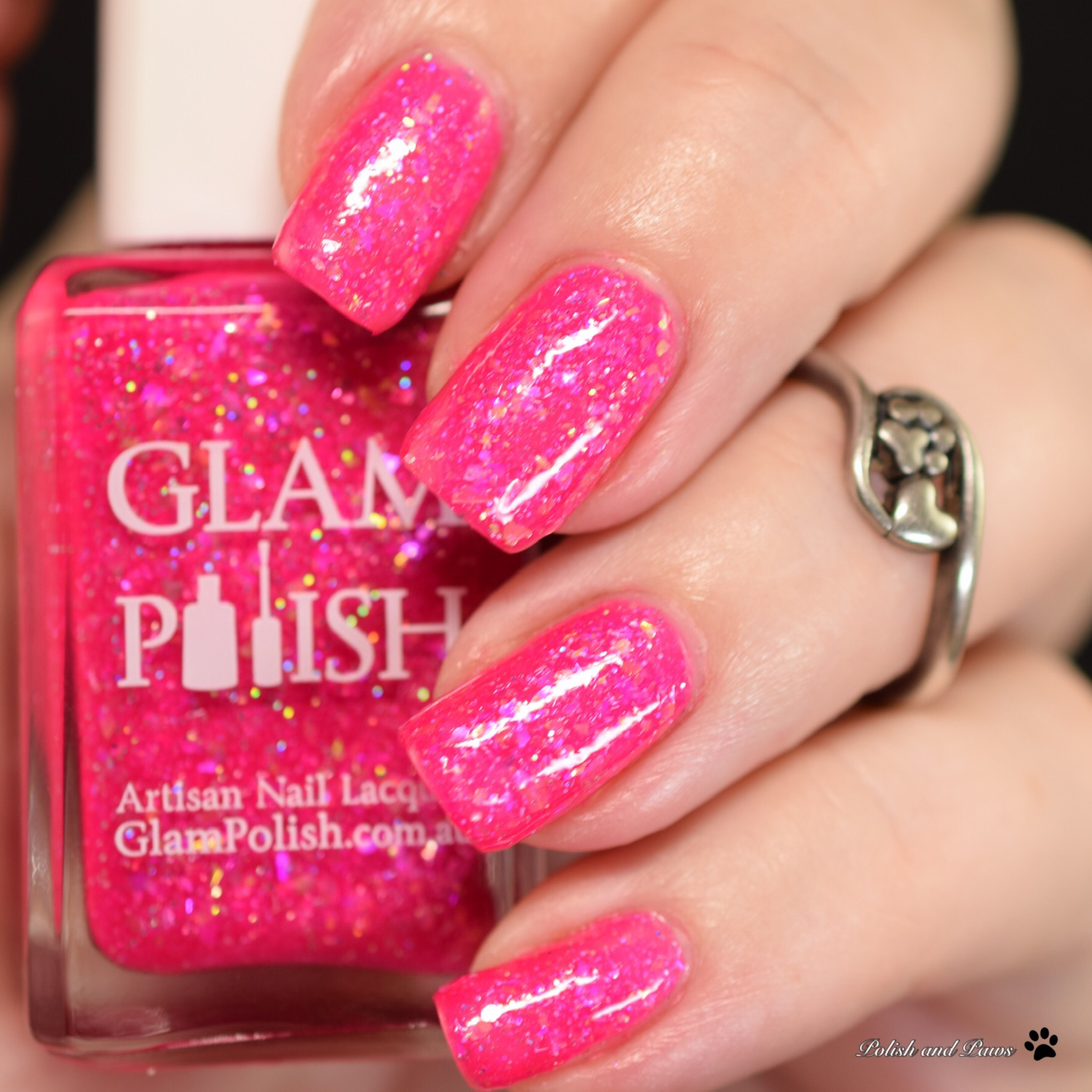 Glam Polish Lots-o'-Huggin' Bear