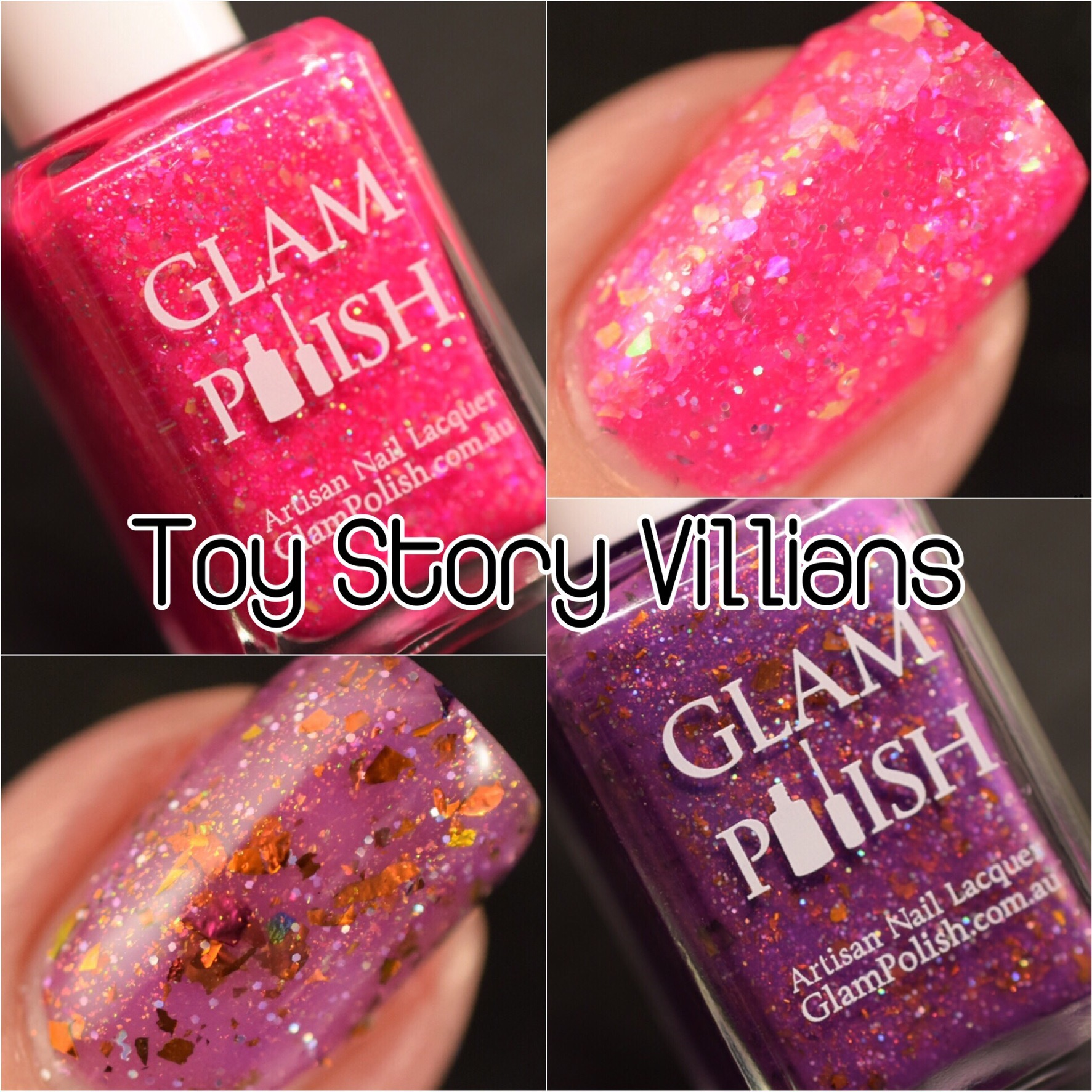 Glam Polish Glam Geek  Toy Story Villians Duo