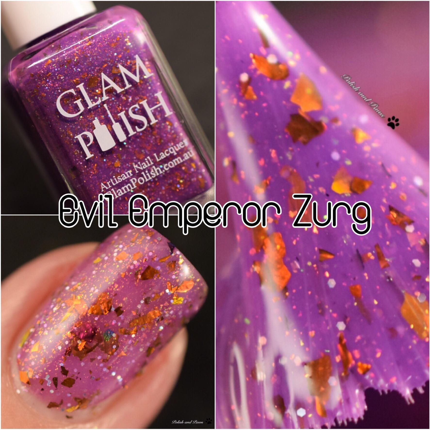 Glam Polish Evil Emperor Zurg