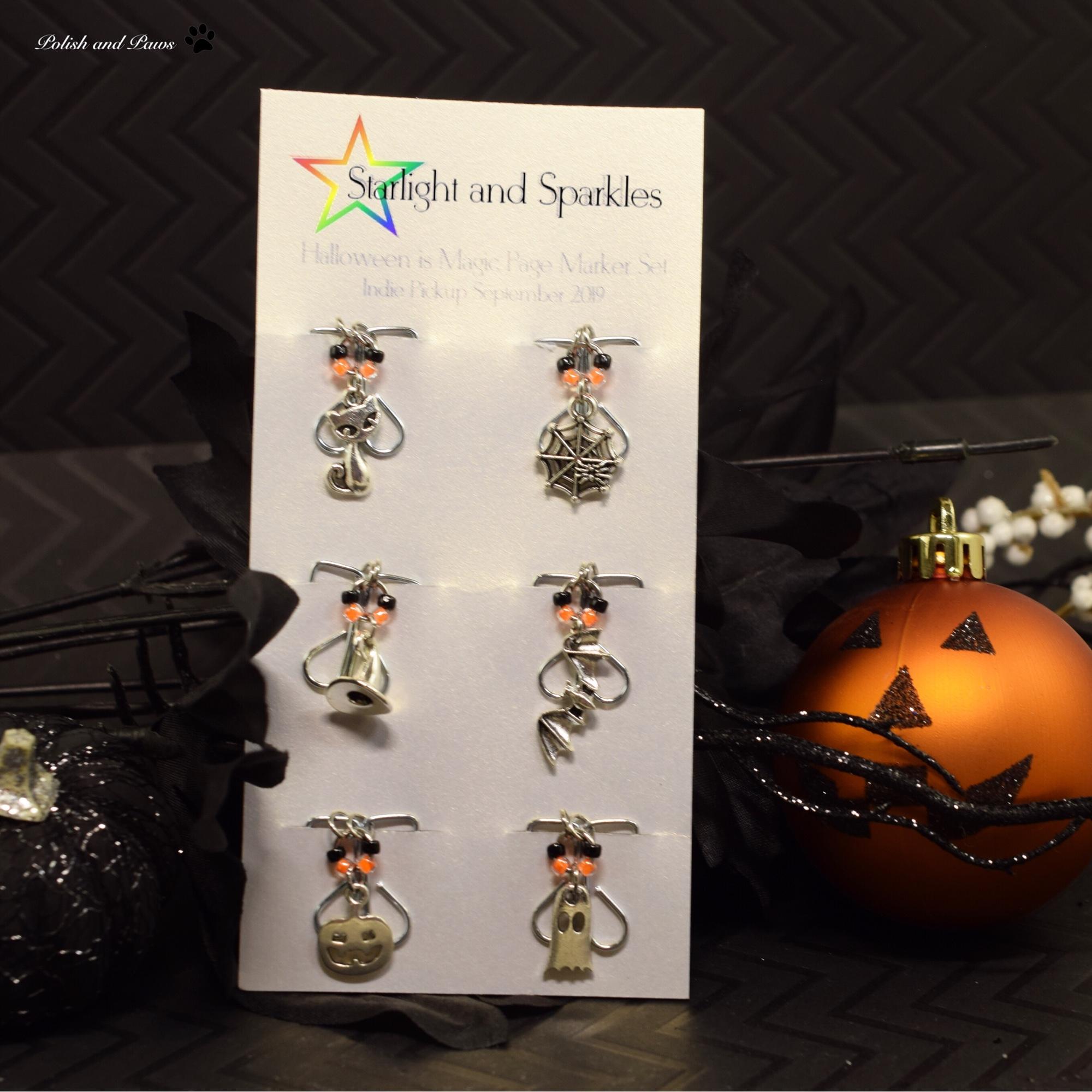 Starlight Christmas Event 2020 Moni Polish Pickup ~ Starlight Polish Purifying Flames and Halloween is