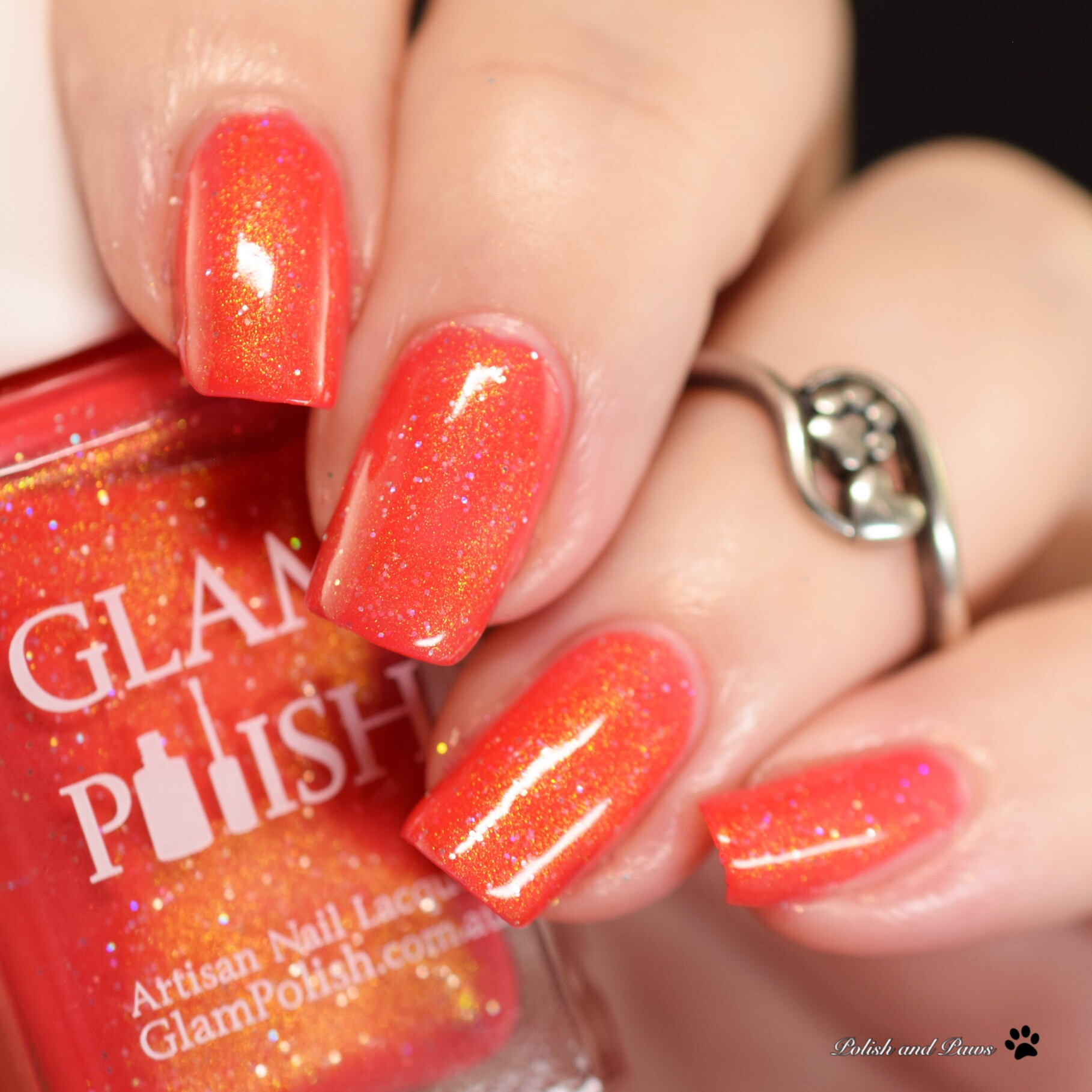 Glam Polish No One's Slick as Gaston