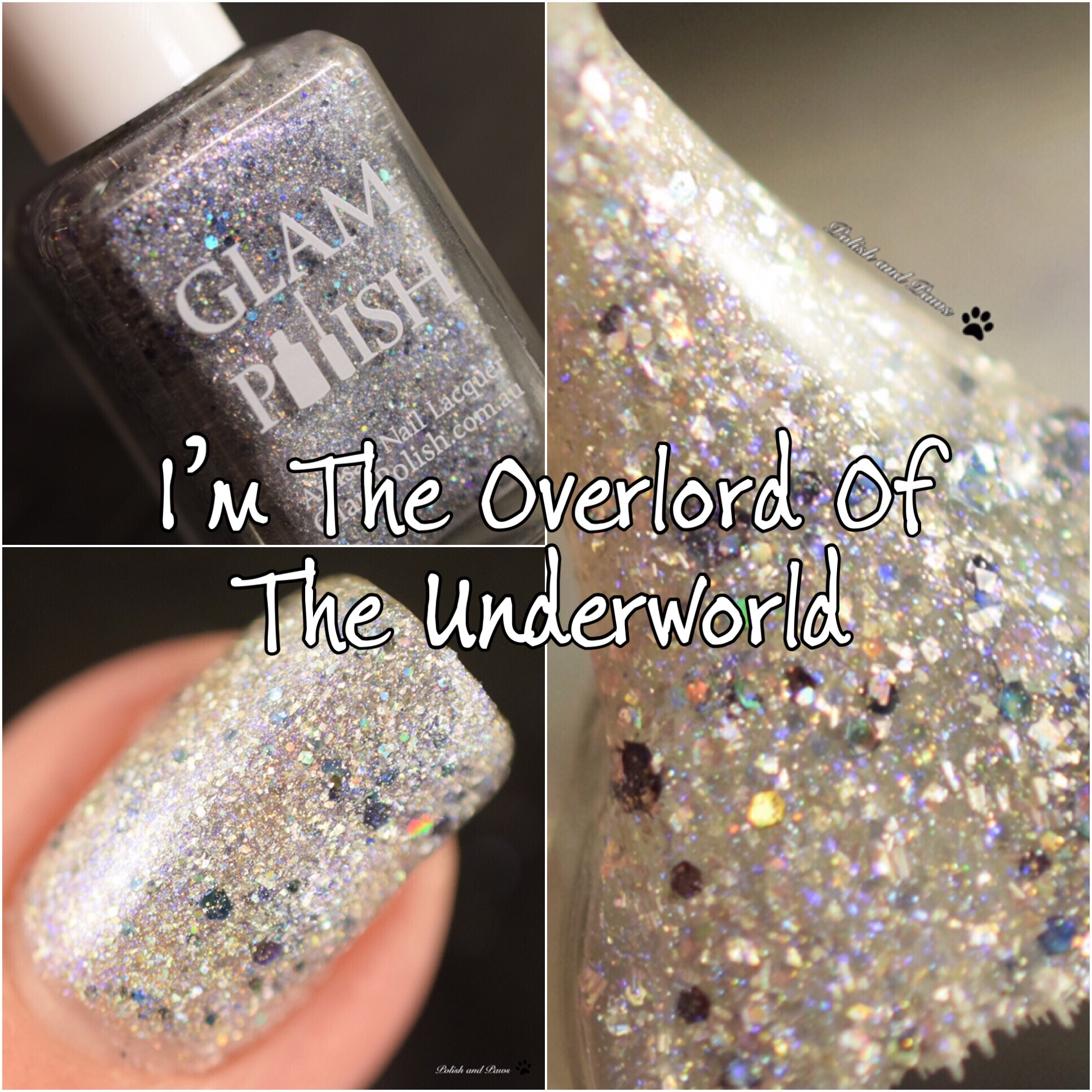 Glam Polish I'm the Overlord of the Underworld