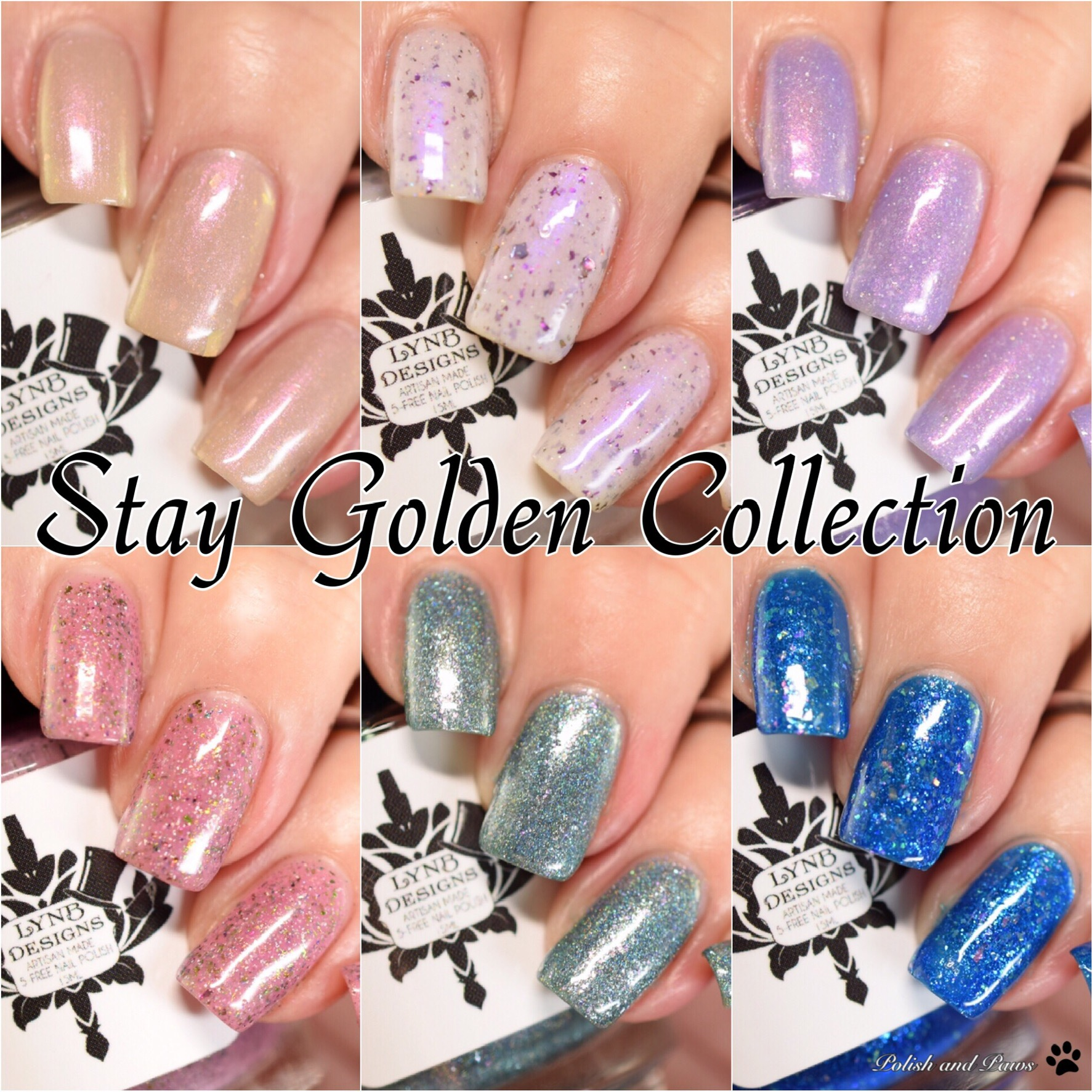 LynB Designs Stay Golden Collection