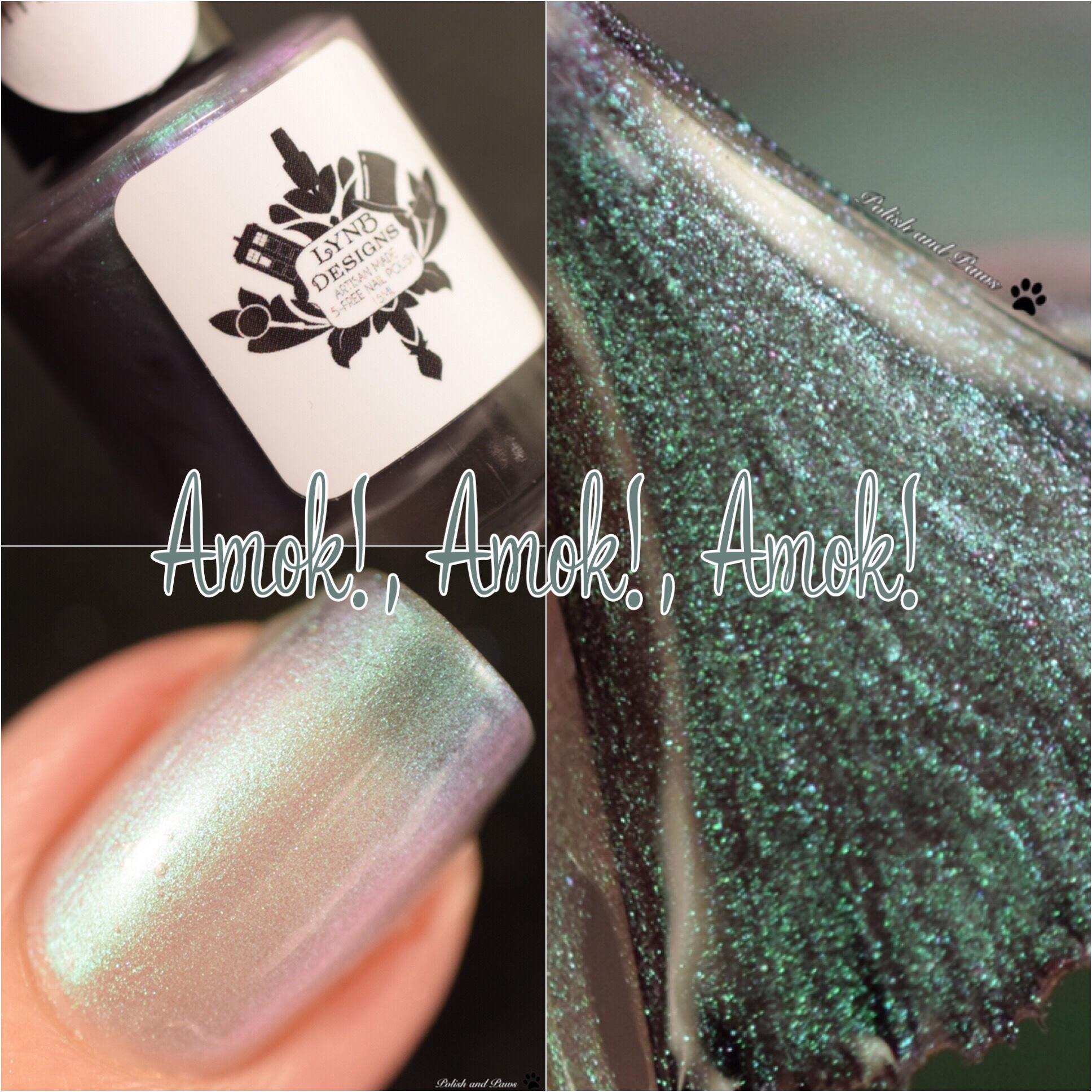 LynB Designs Amok!, Amok!, Amok!