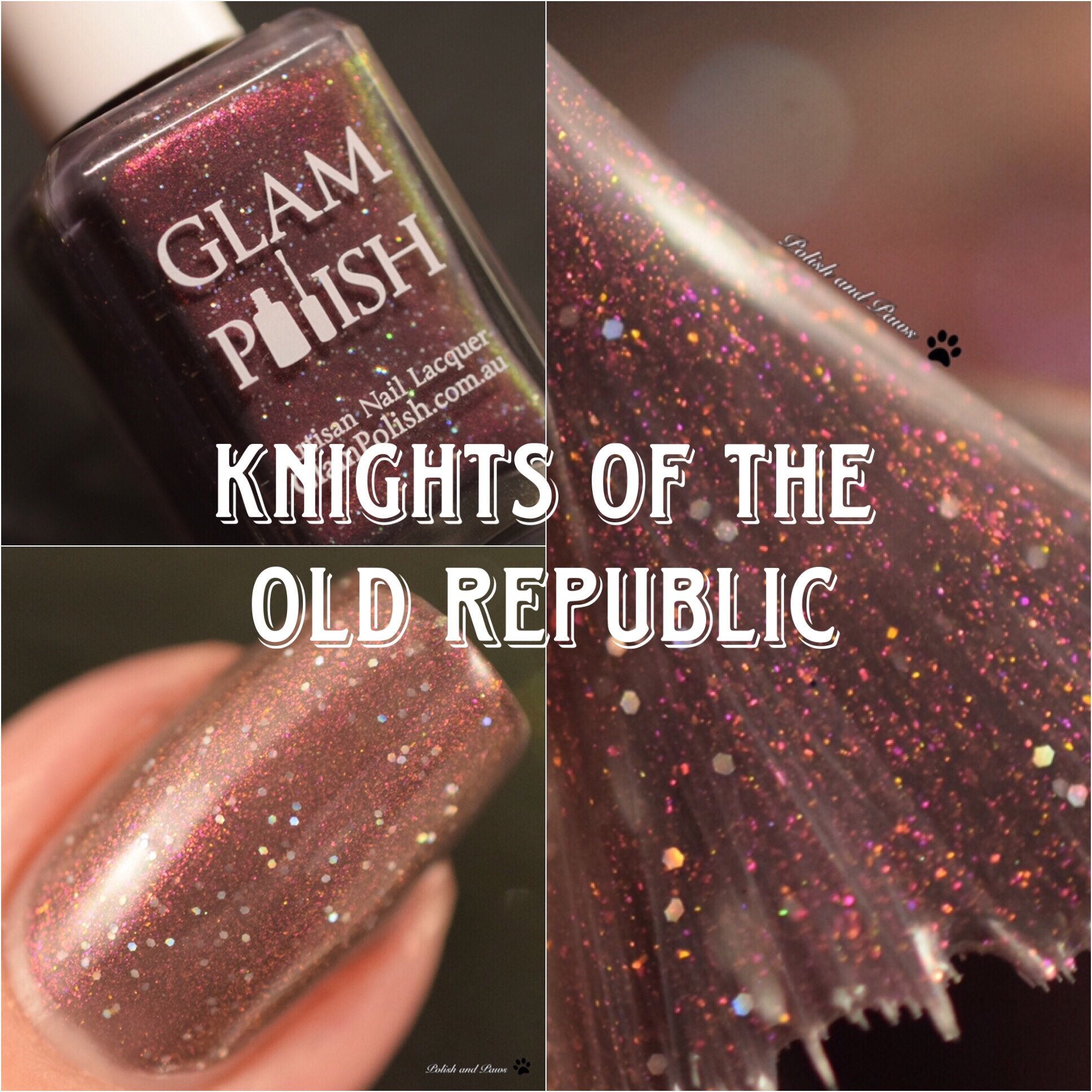Glam Polish Knights of the Old Republic