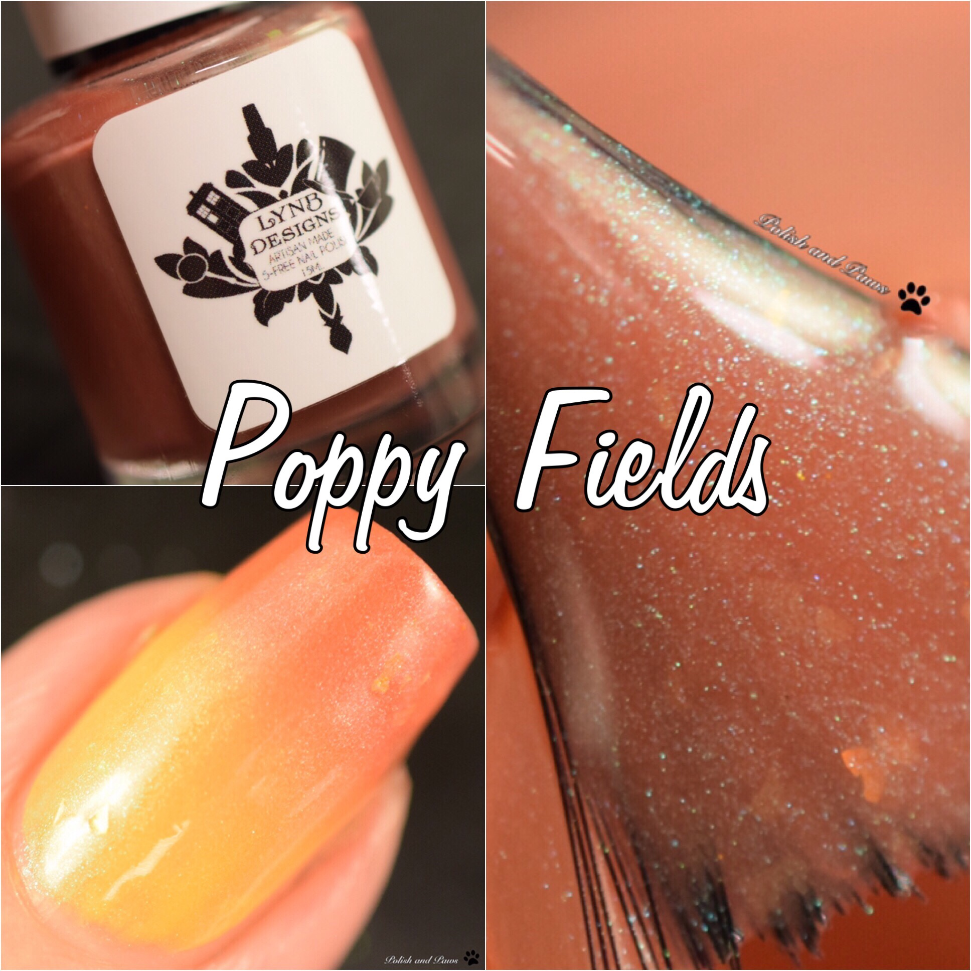 LynB Designs Poppy Fields