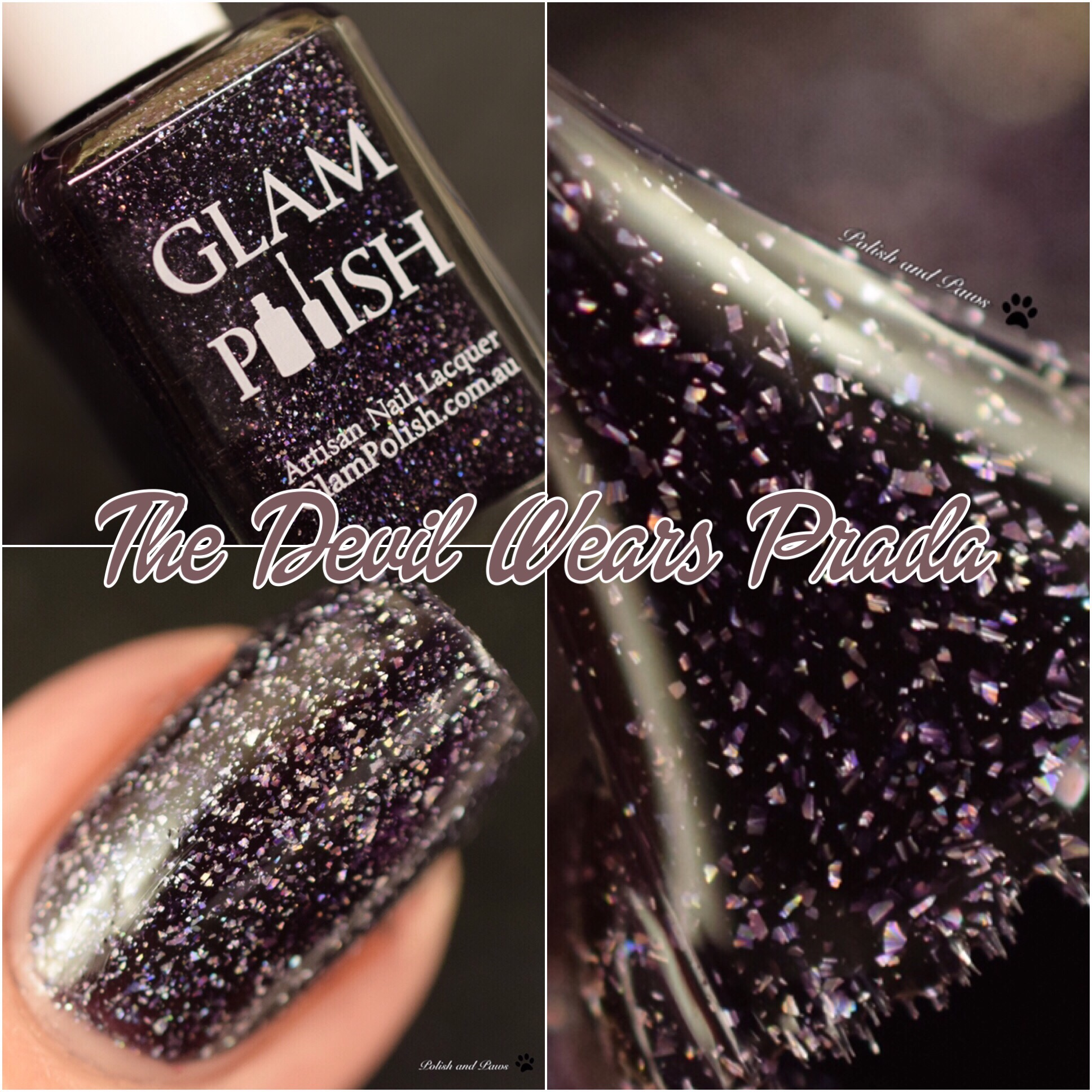 Glam Polish The Devil Wears Prada