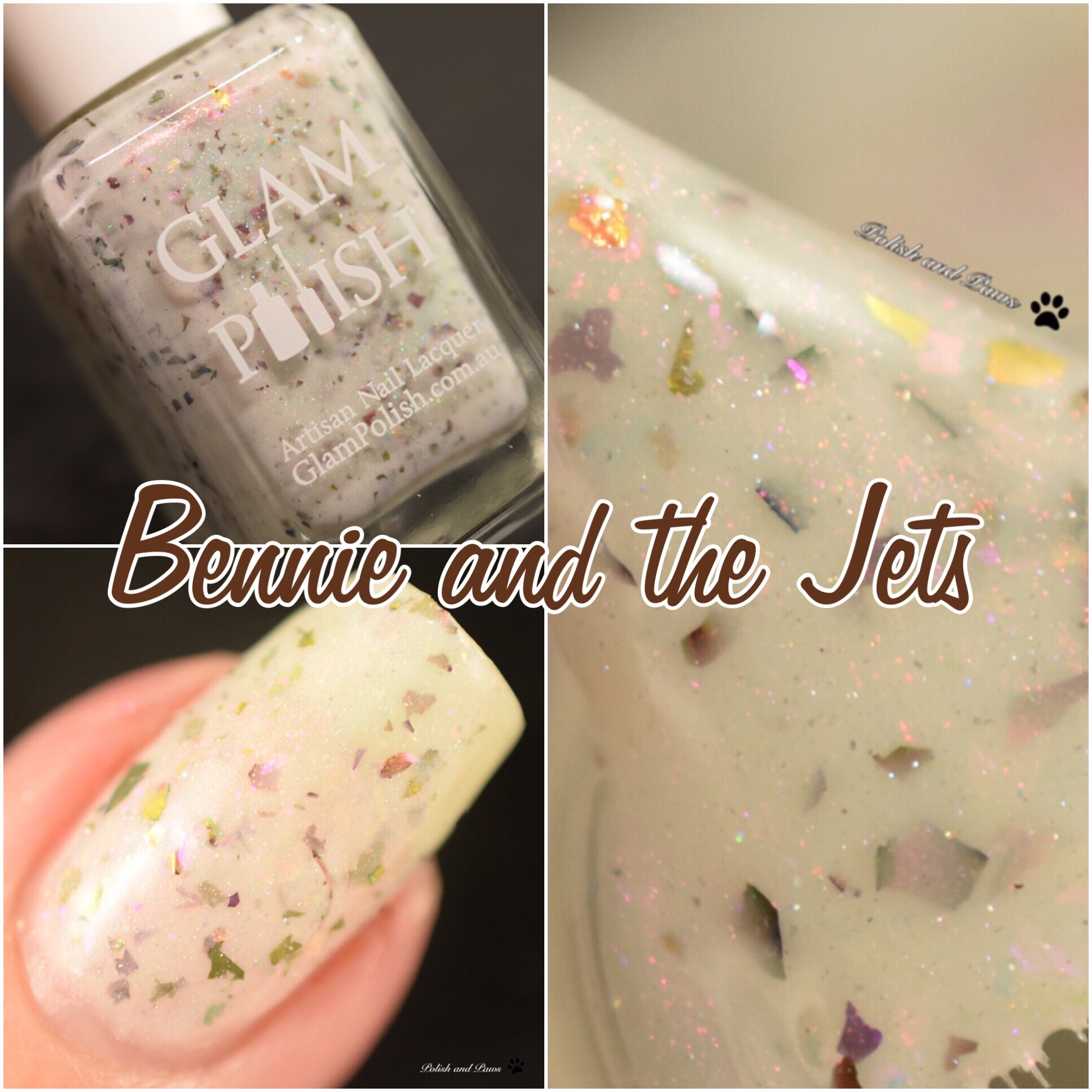 Glam Polish Bennie and The Jets