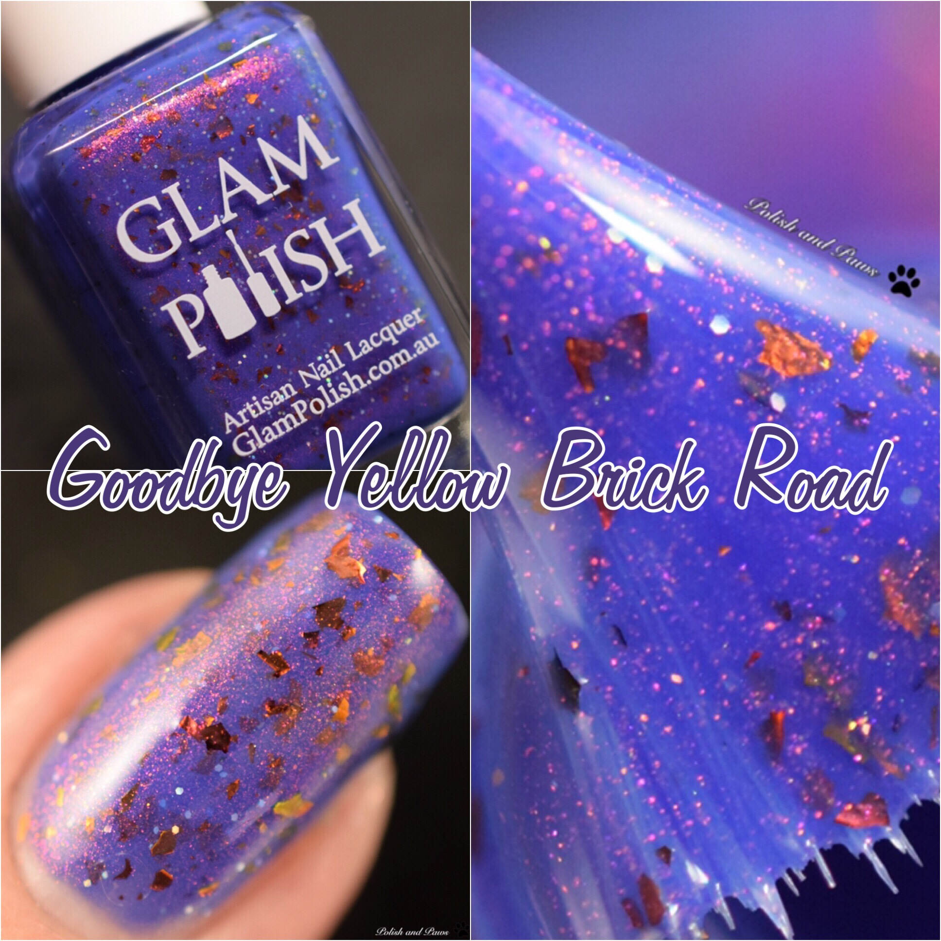 Glam Polish Goodbye Yellow Brick Road