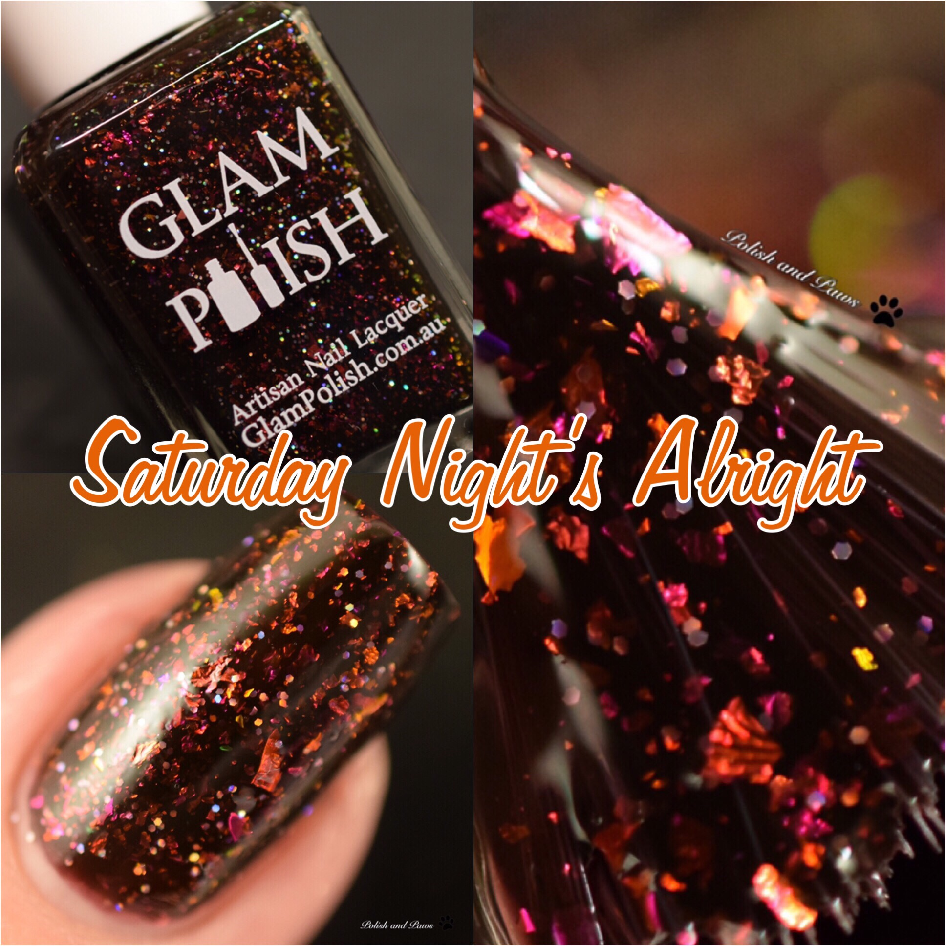 Glam Polish Saturday Night's Alright