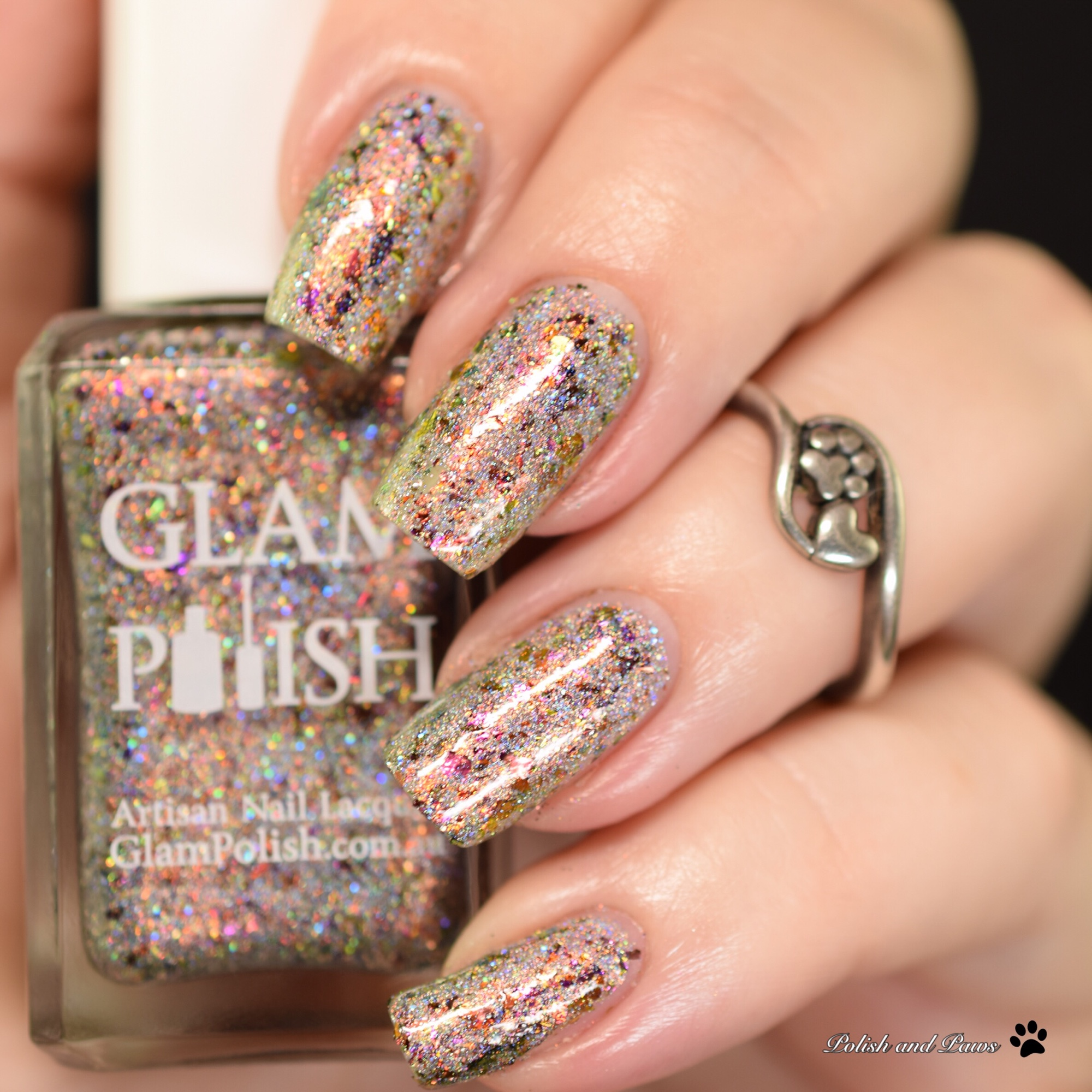 Glam Polish The B%$