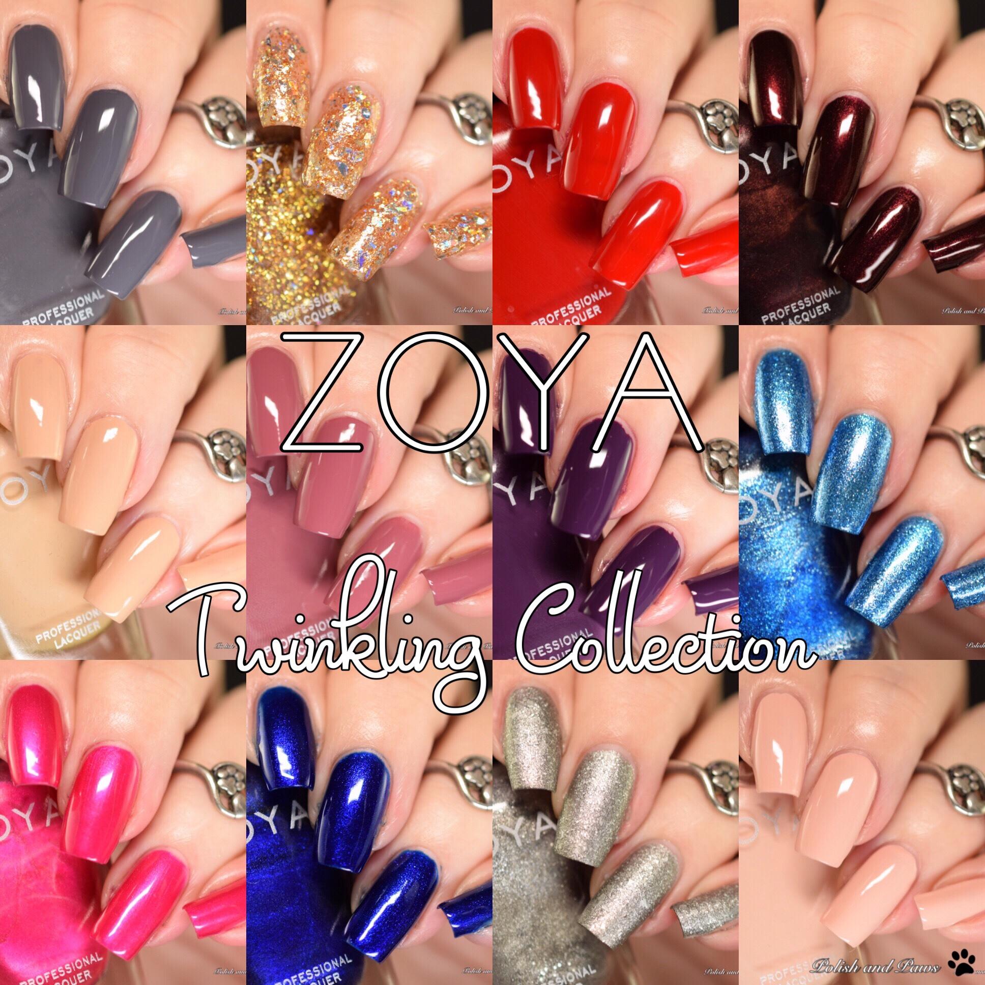 Zoya Nail Polish Twinkling Collection ~ Holiday 2019