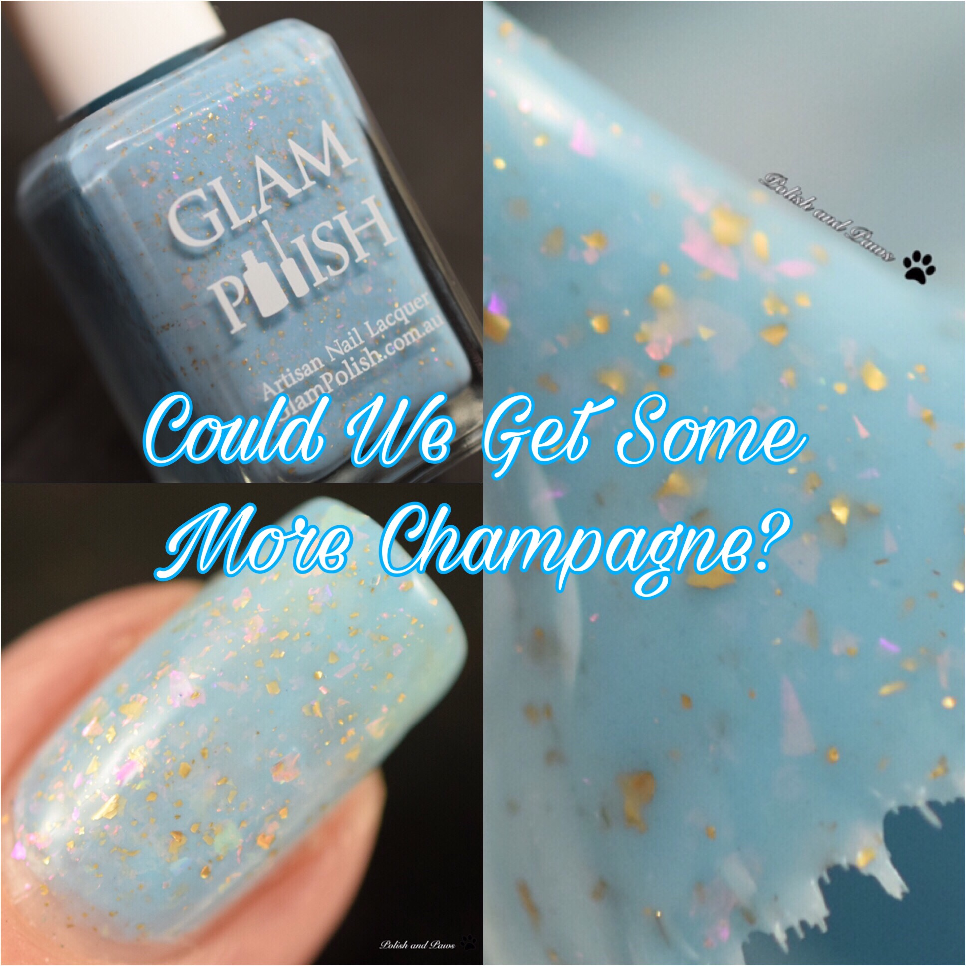 Glam Polish Could We Get Some More Champagne?