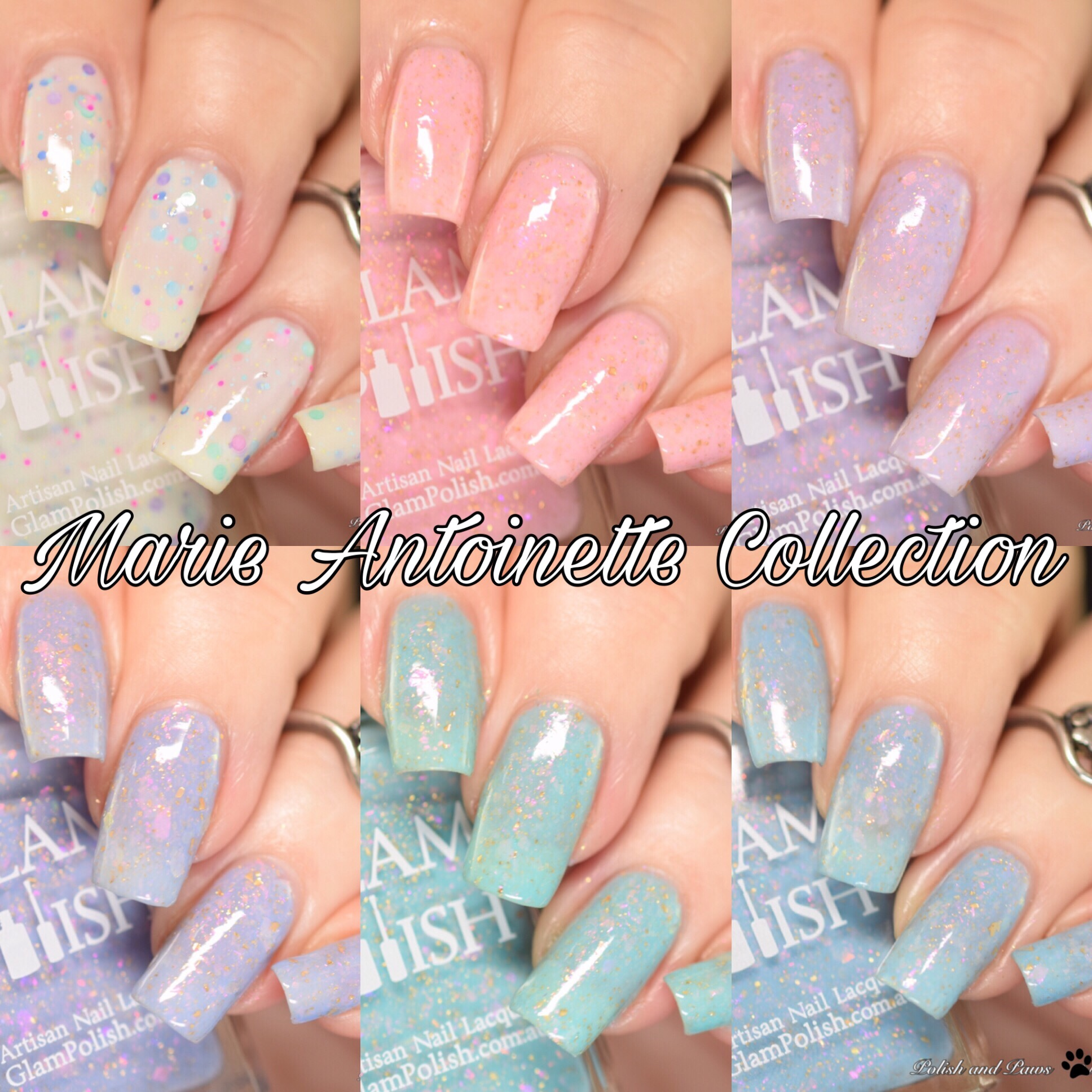 Glam Polish Marie Antoinette Collection