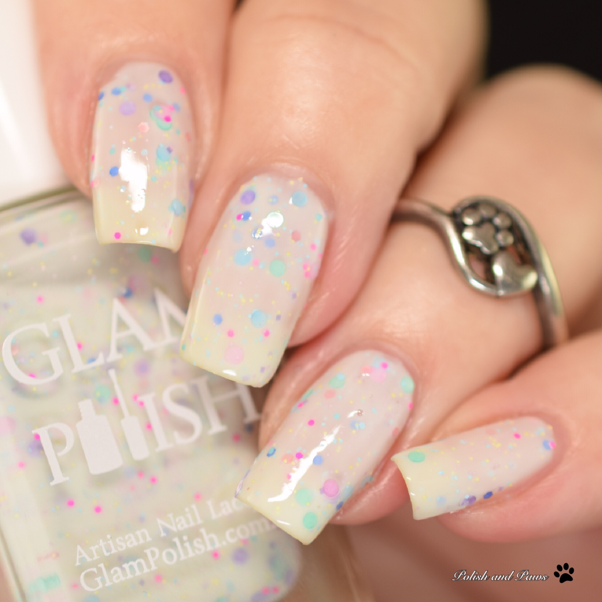 Glam Polish She Looks Like a Little Piece of Cake