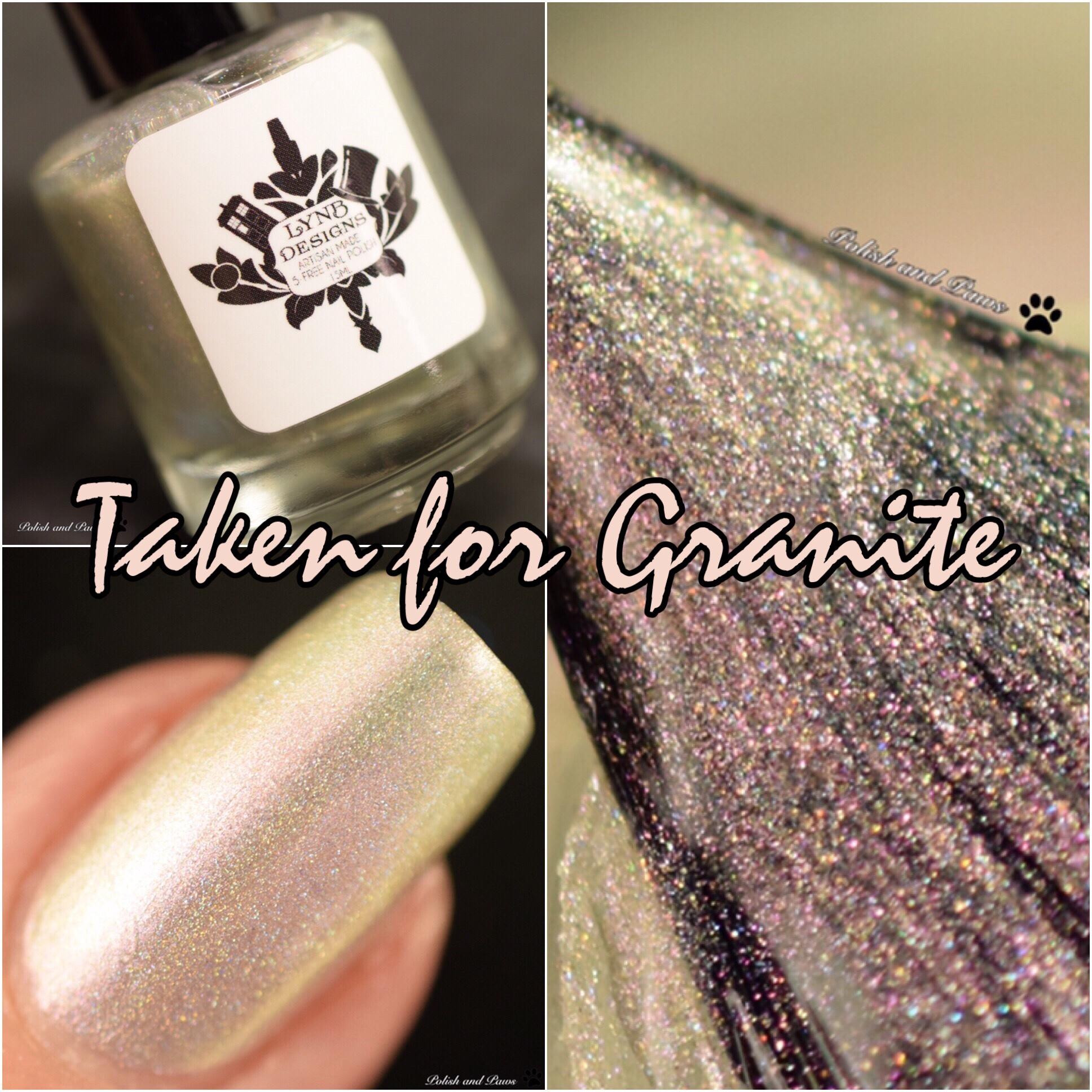 LynB Designs Taken for Granite