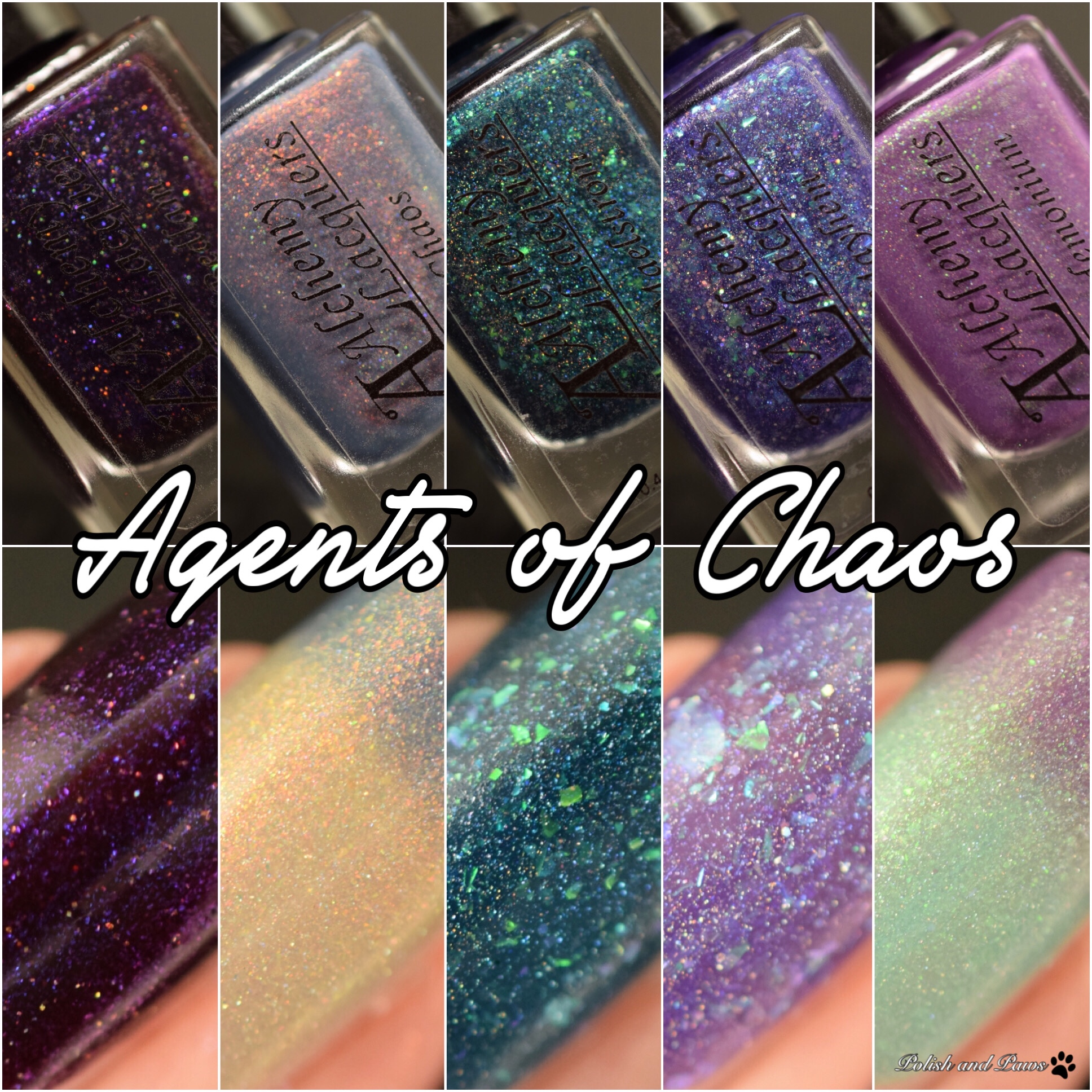 Alchemy Lacquers Agents of Chaos