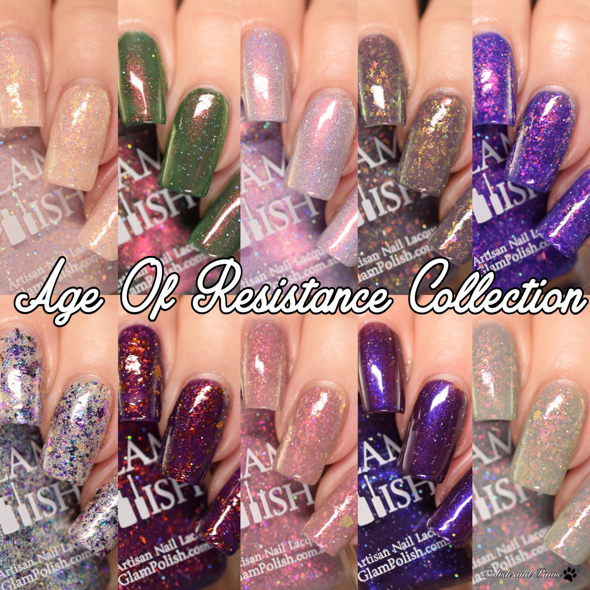 Glam Polish Age of Resistance Collection Limited Edition   Polish ...