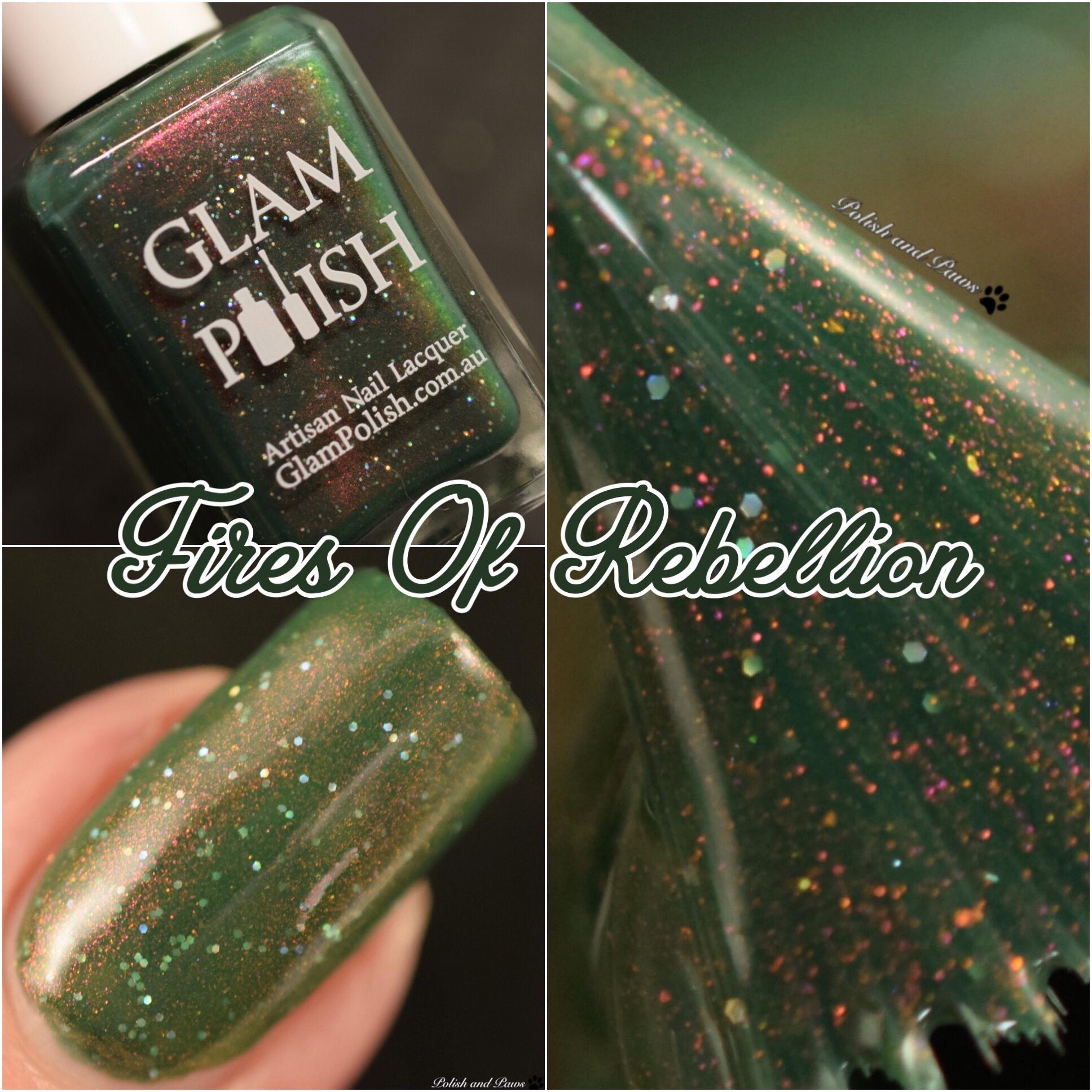 Glam Polish Fires of Rebellion