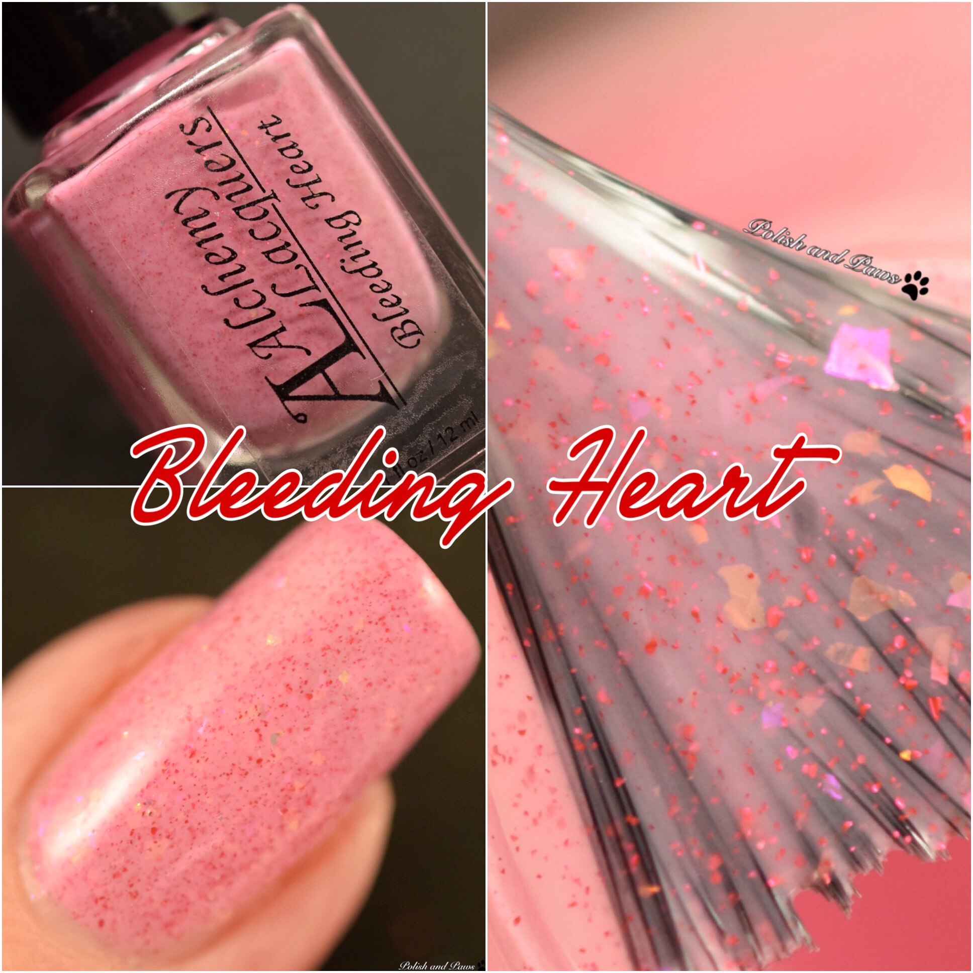 Alchemy Lacquers Bleeding Heart