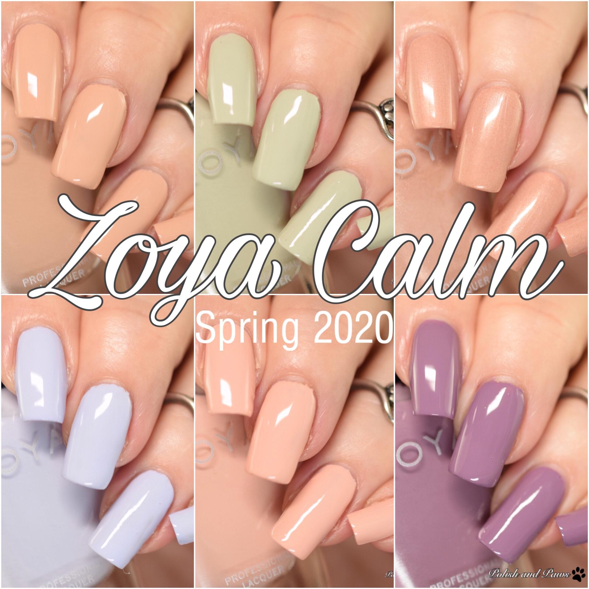 Zoya Calm Collection Spring 2020