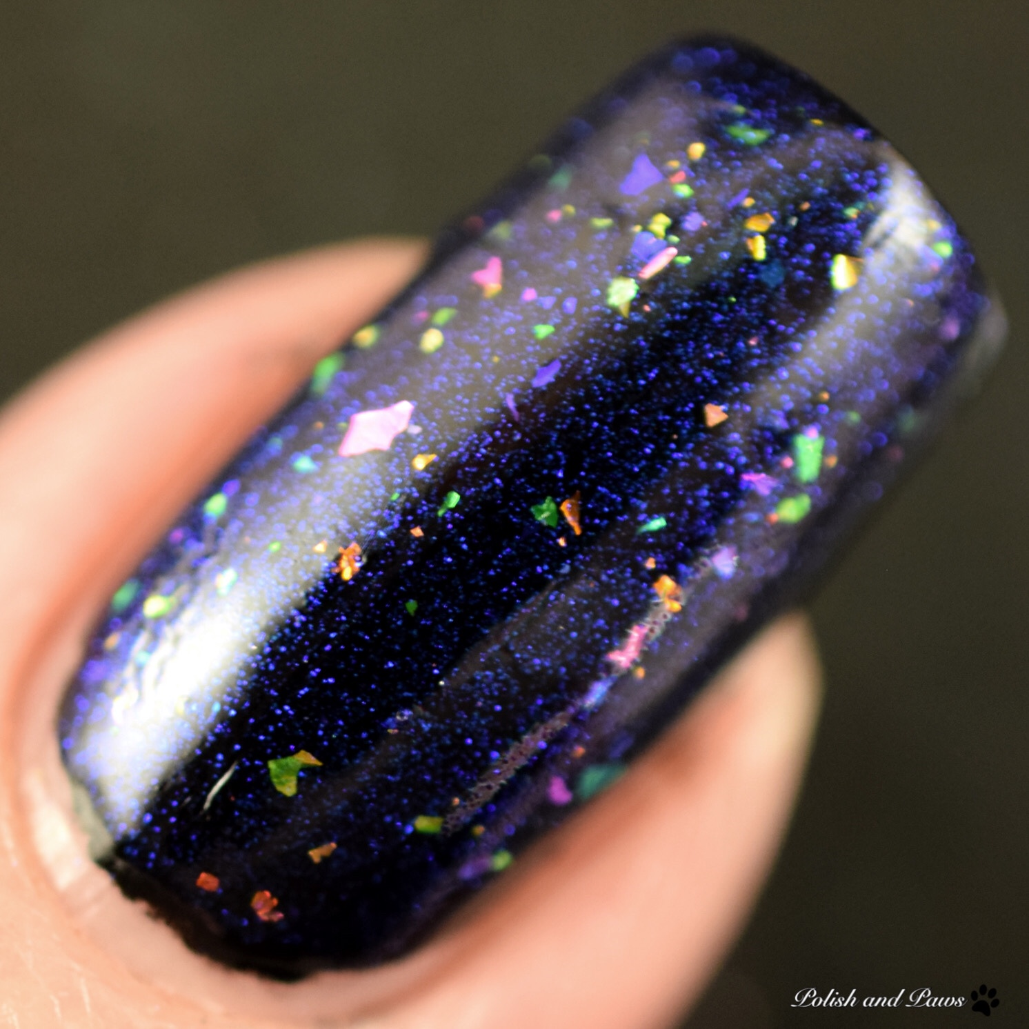 Starlight Polish Sea Sapphires