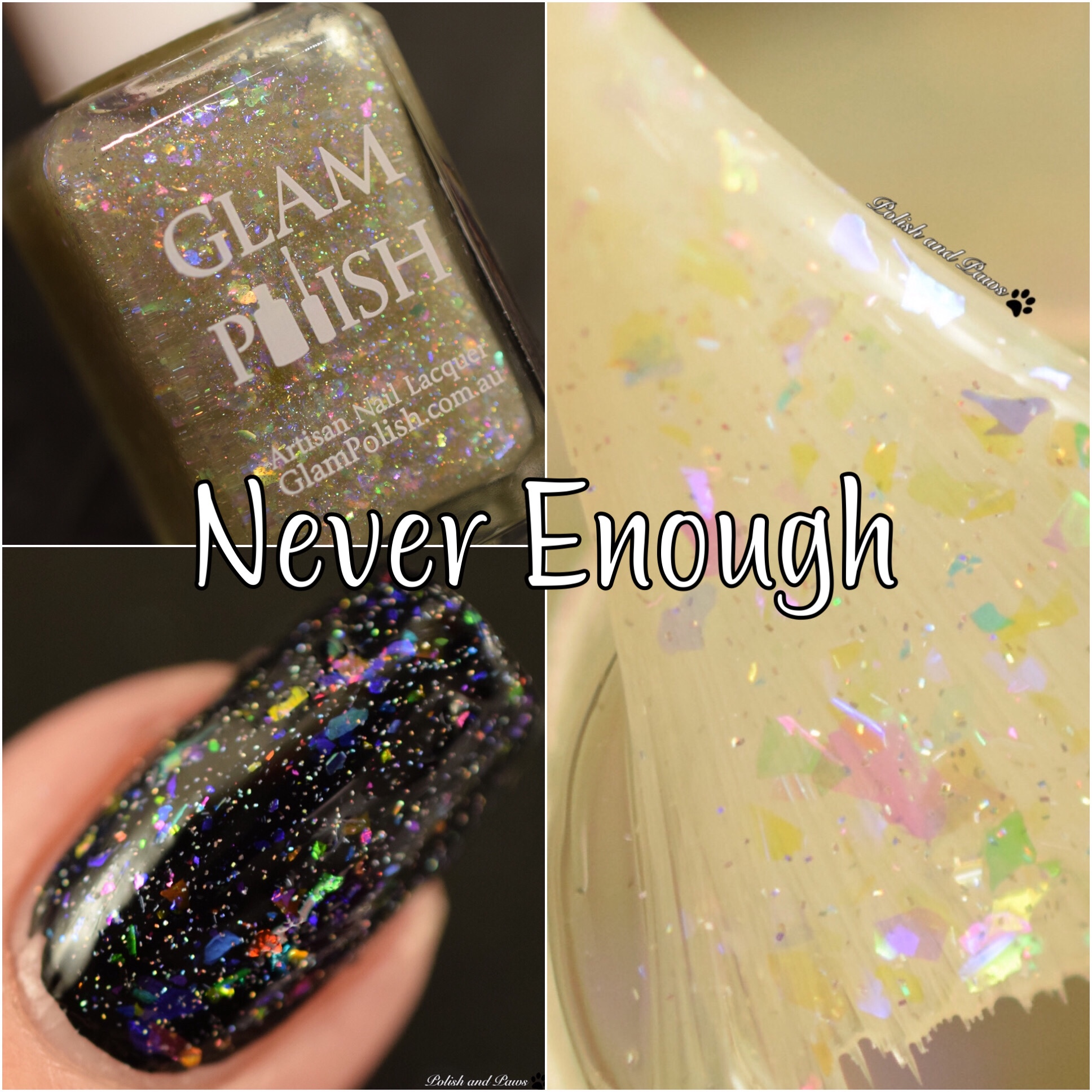 Glam Polish Never Enough