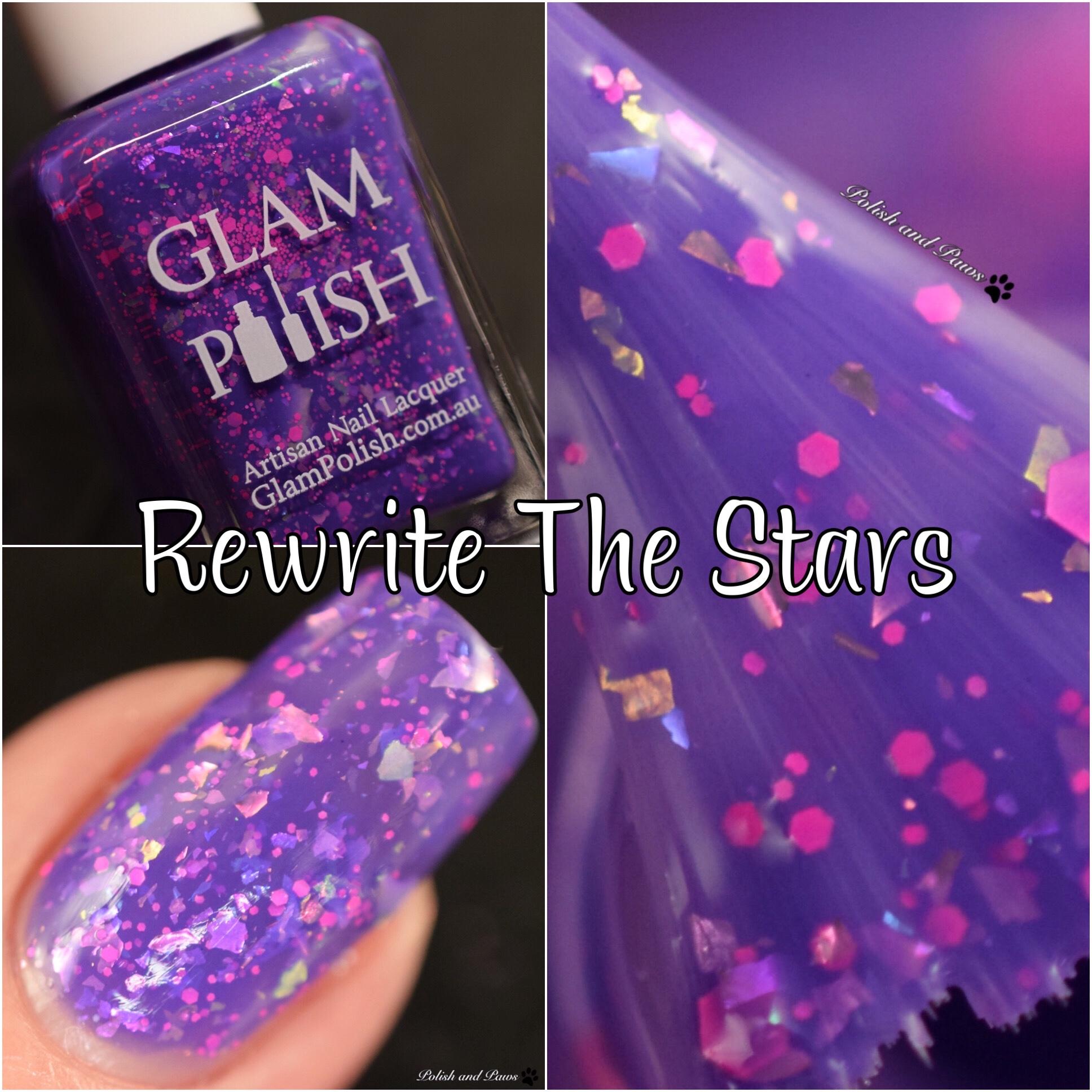 Glam Polish Rewrite the Stars