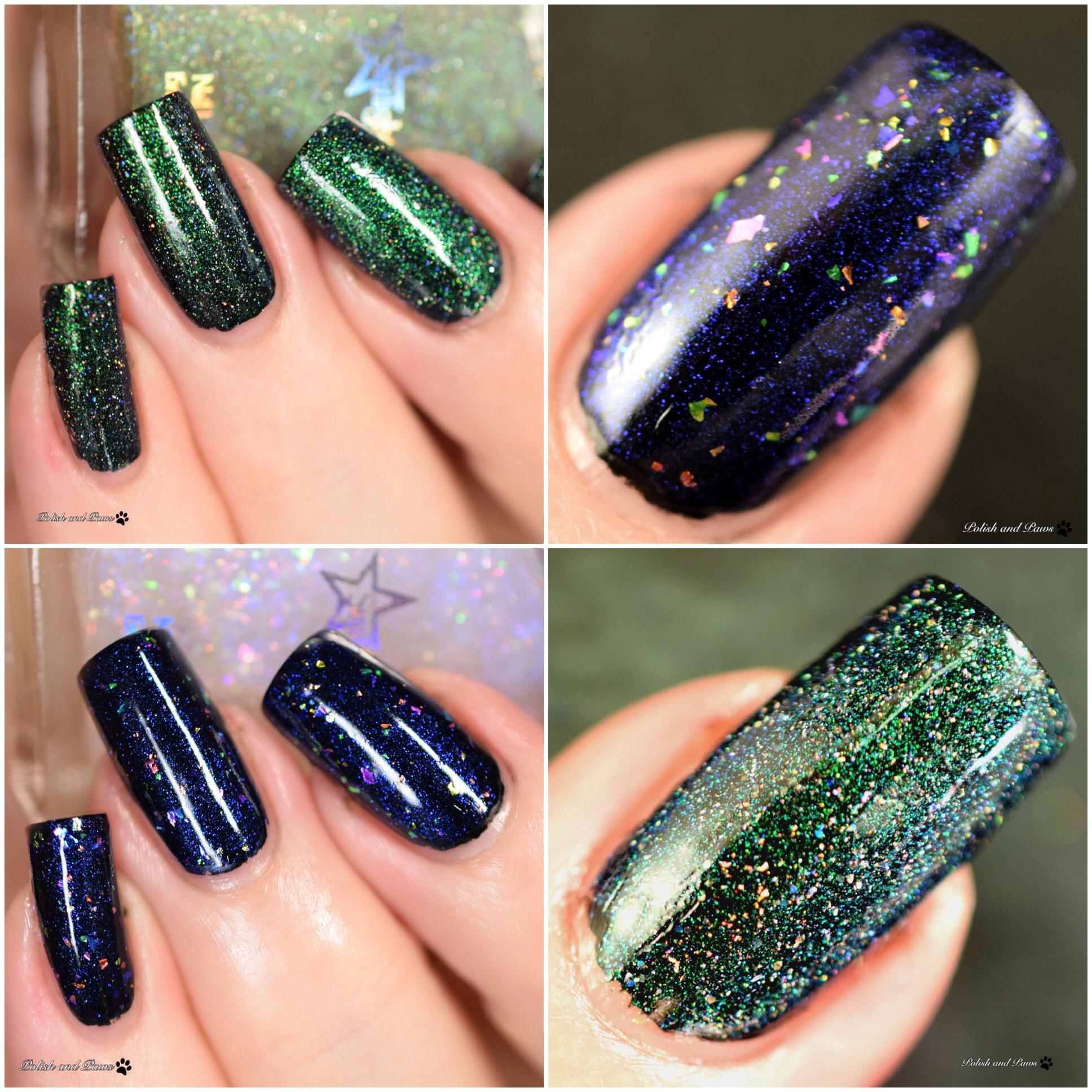 Starlight Polish Sea Sapphires - Myths, Magic, and Wonders April PPU
