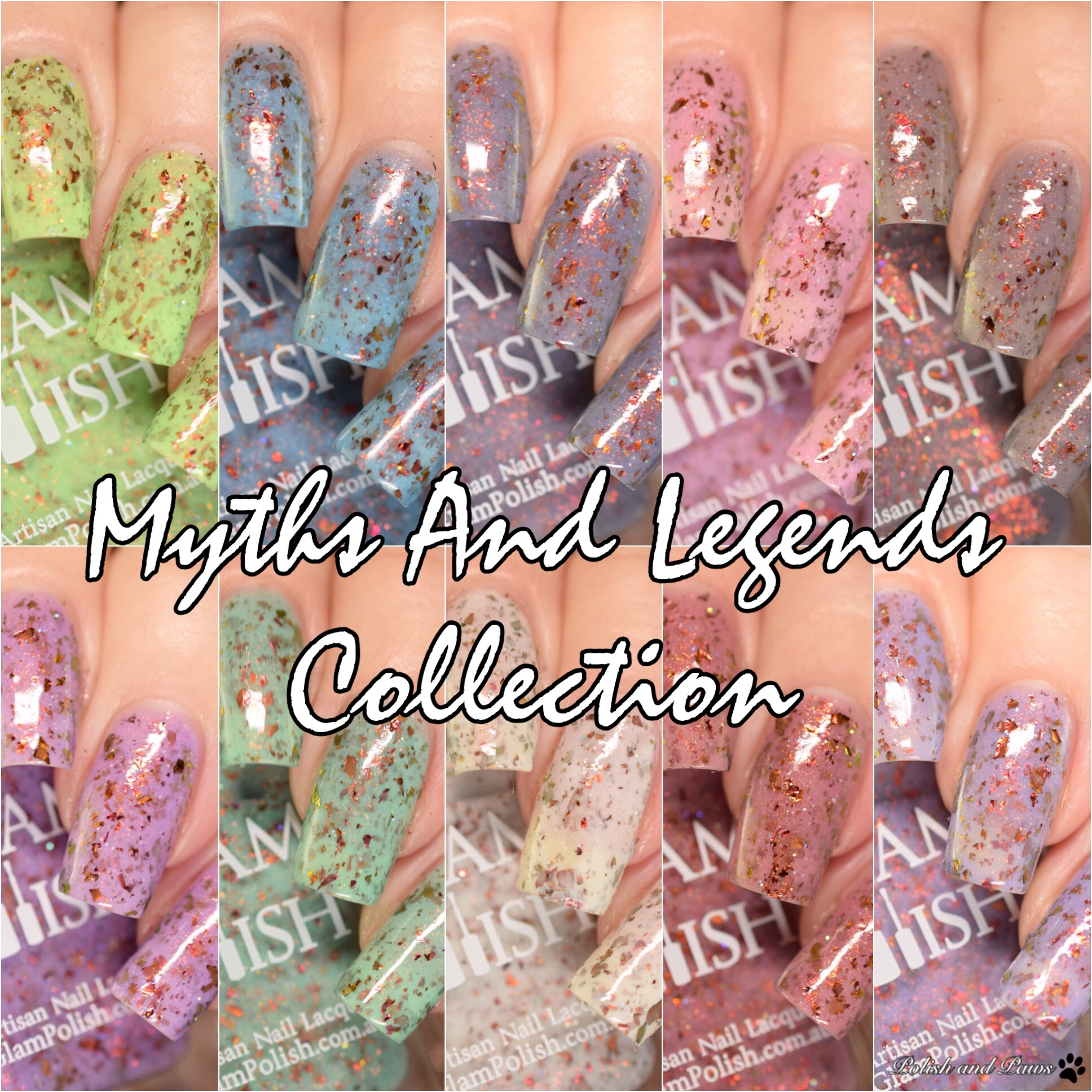 Glam Polish Myths and Legends Collection LE