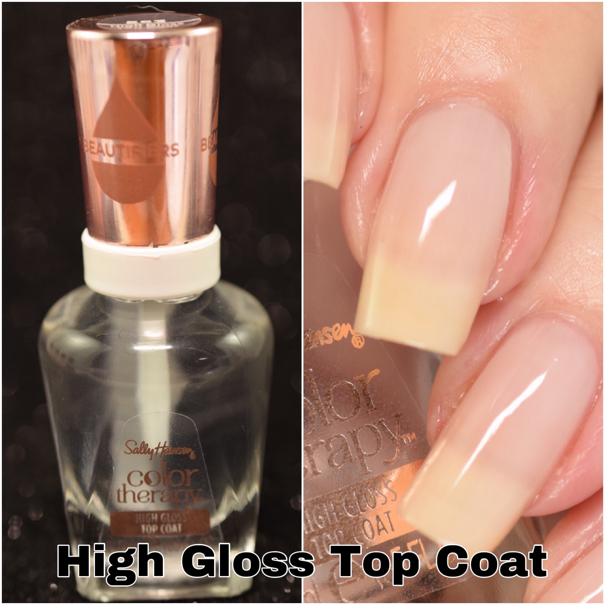 Sally Hansen Color Therapy High Gloss Top Coat