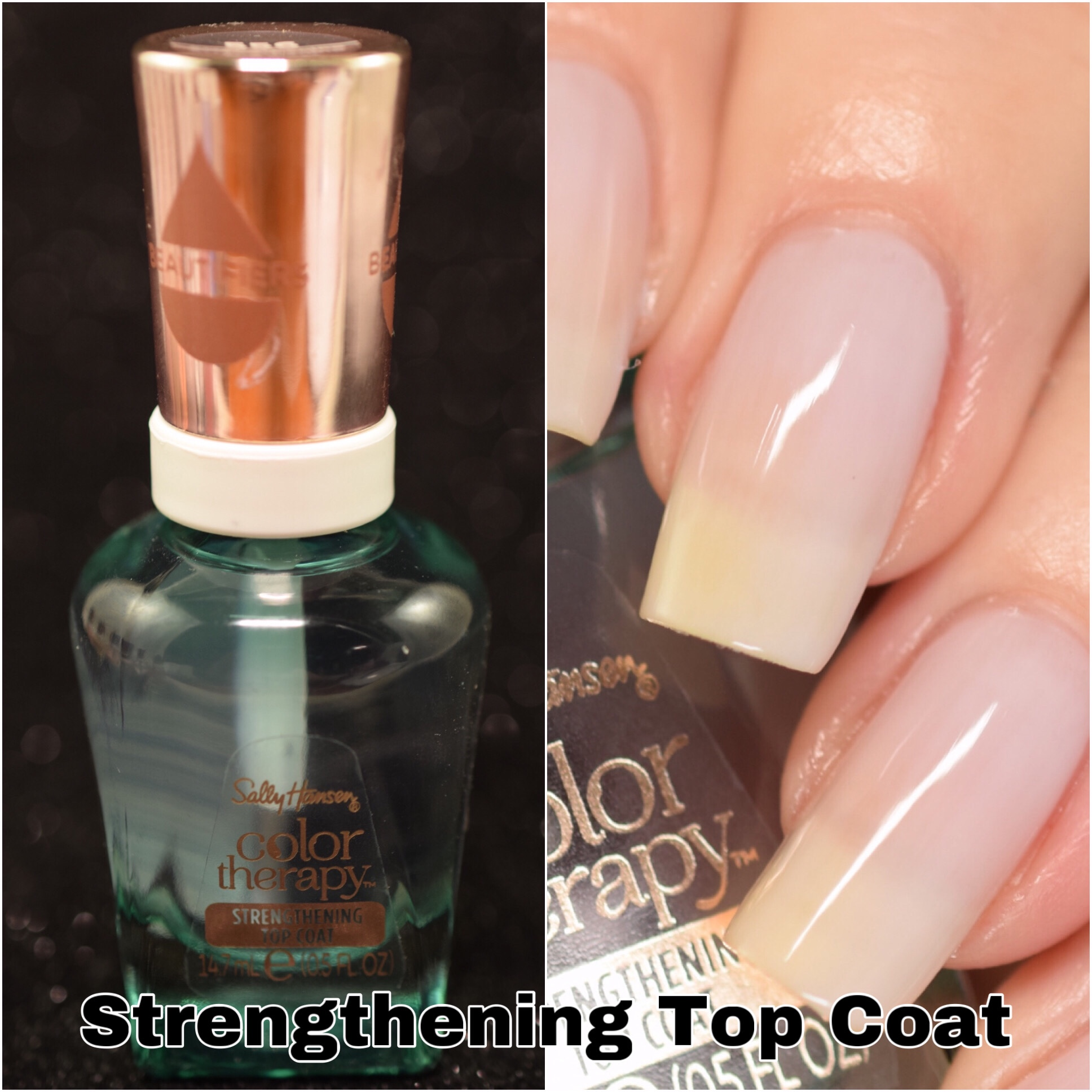 Sally Hansen Color Therapy Strengthening Top Coat