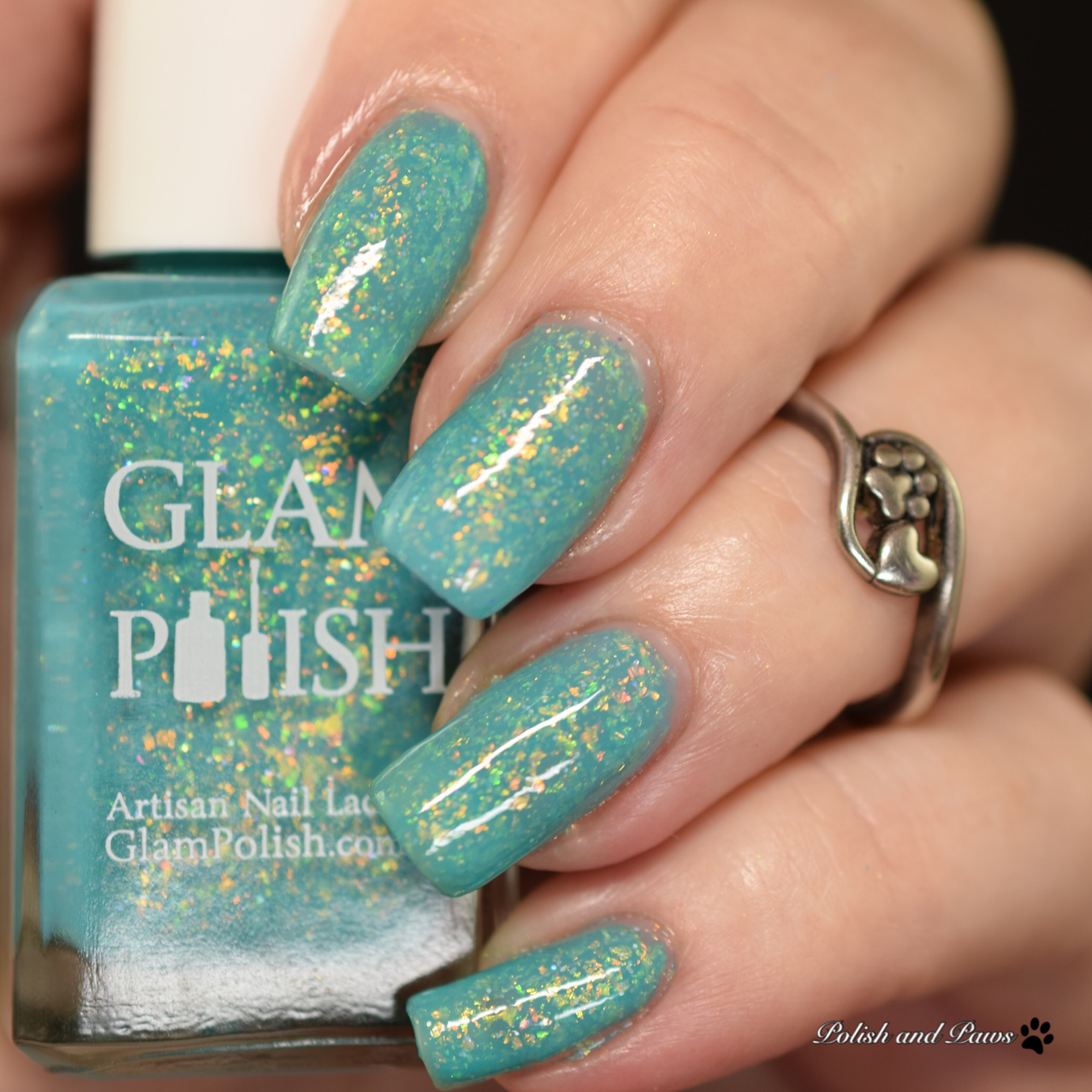 Glam Polish Sandy Toes Anything Goes