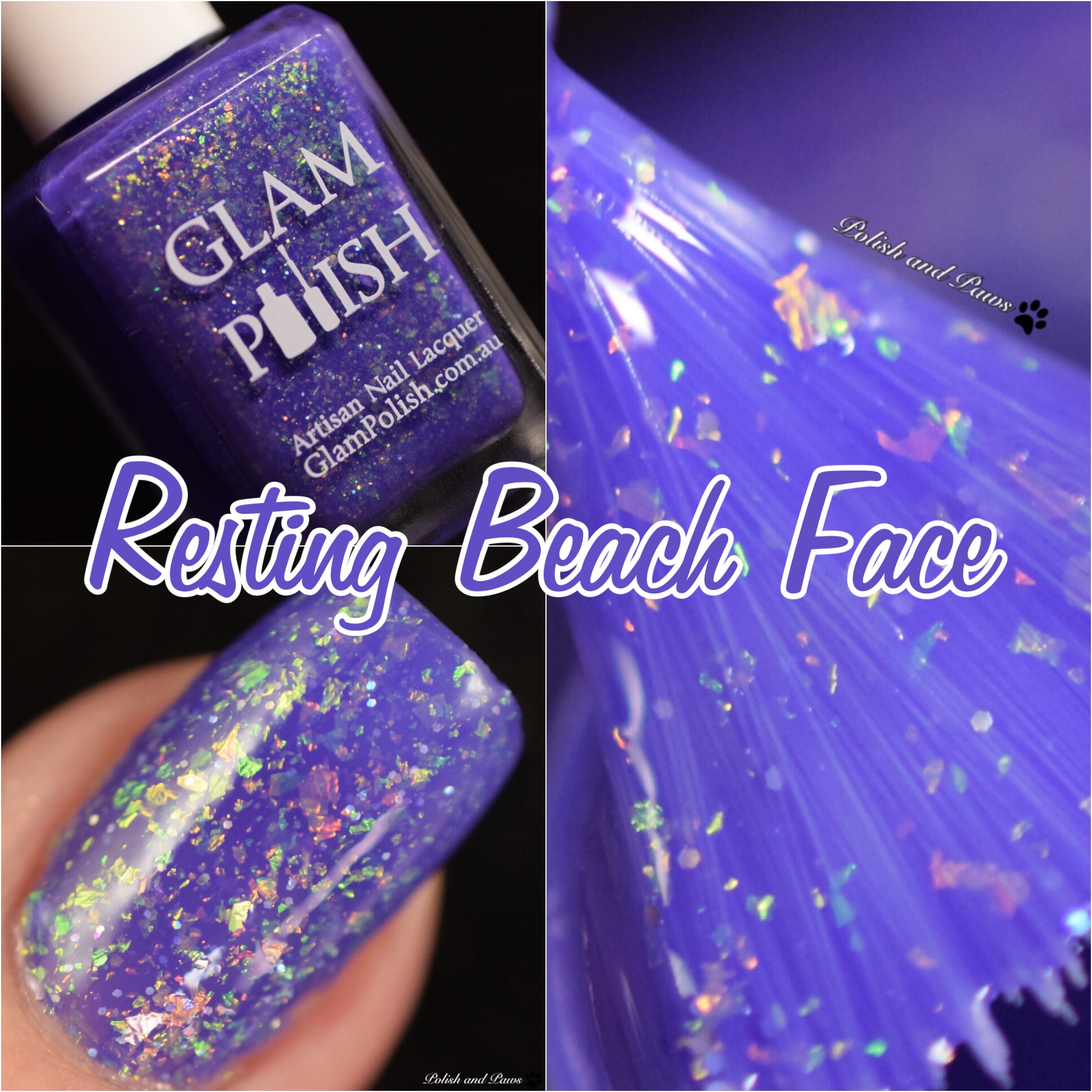 Glam Polish Resting Beach Face