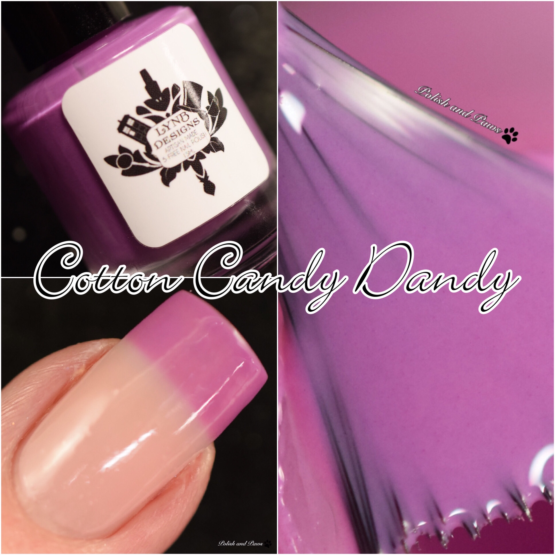 LynB Designs Cotton Candy Dandy