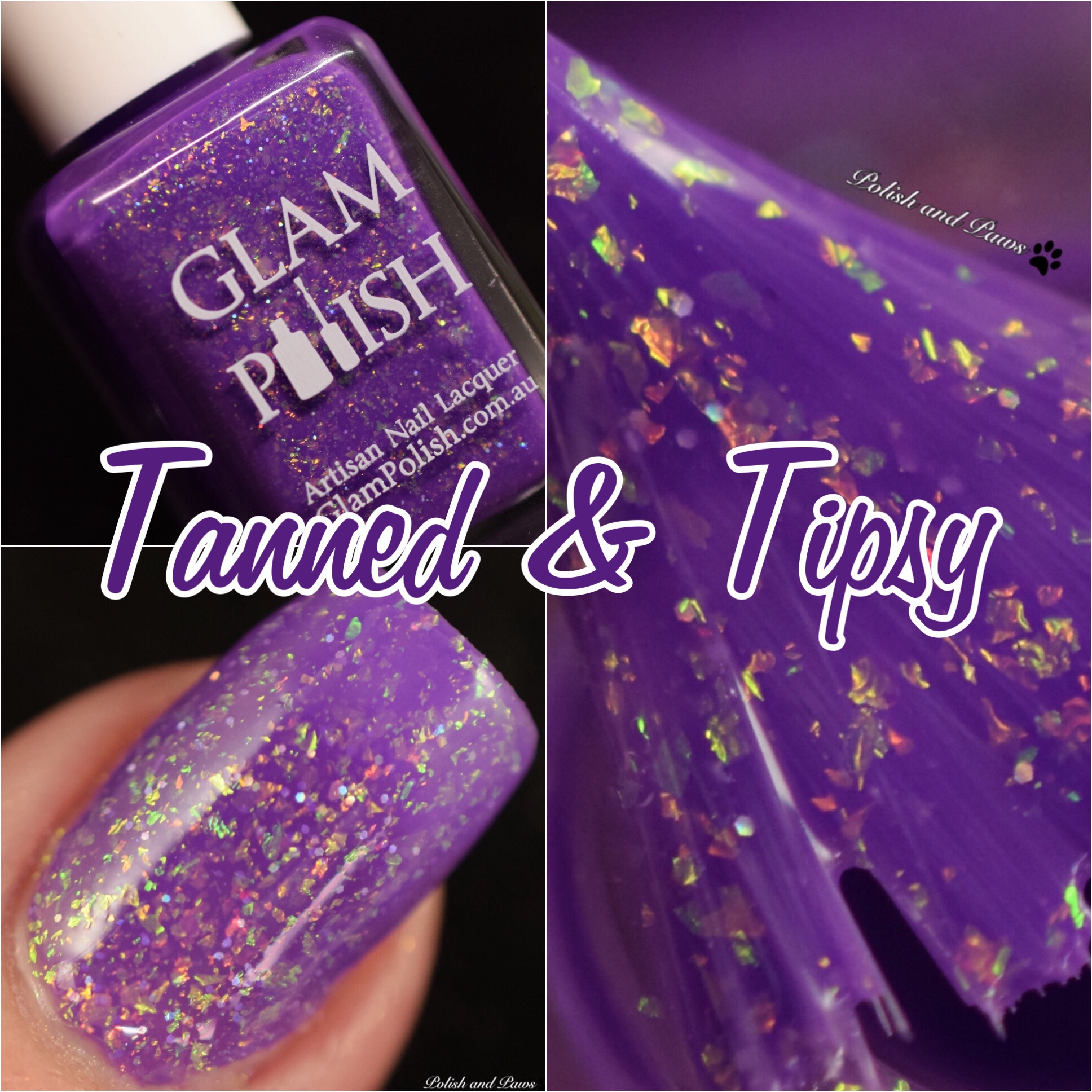 Glam Polish Tanned & Tipsy