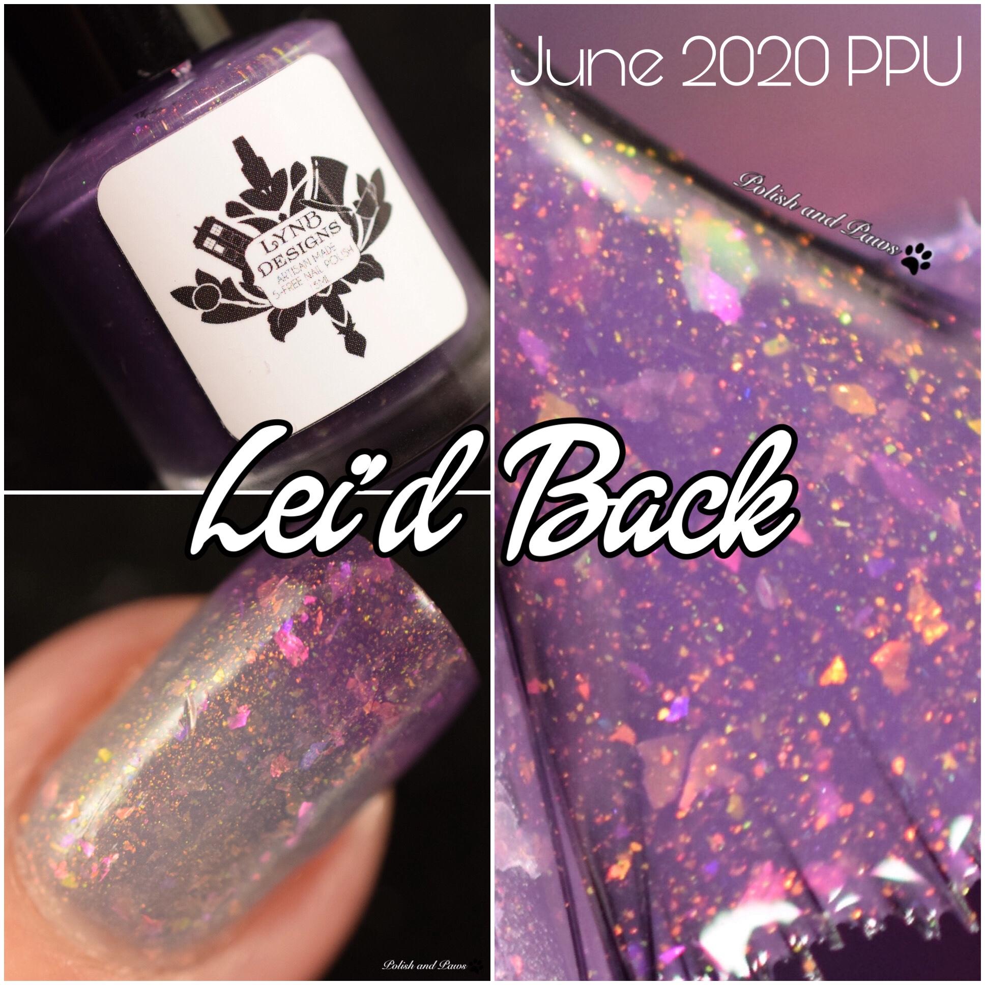 LynB Designs Lei'd Back