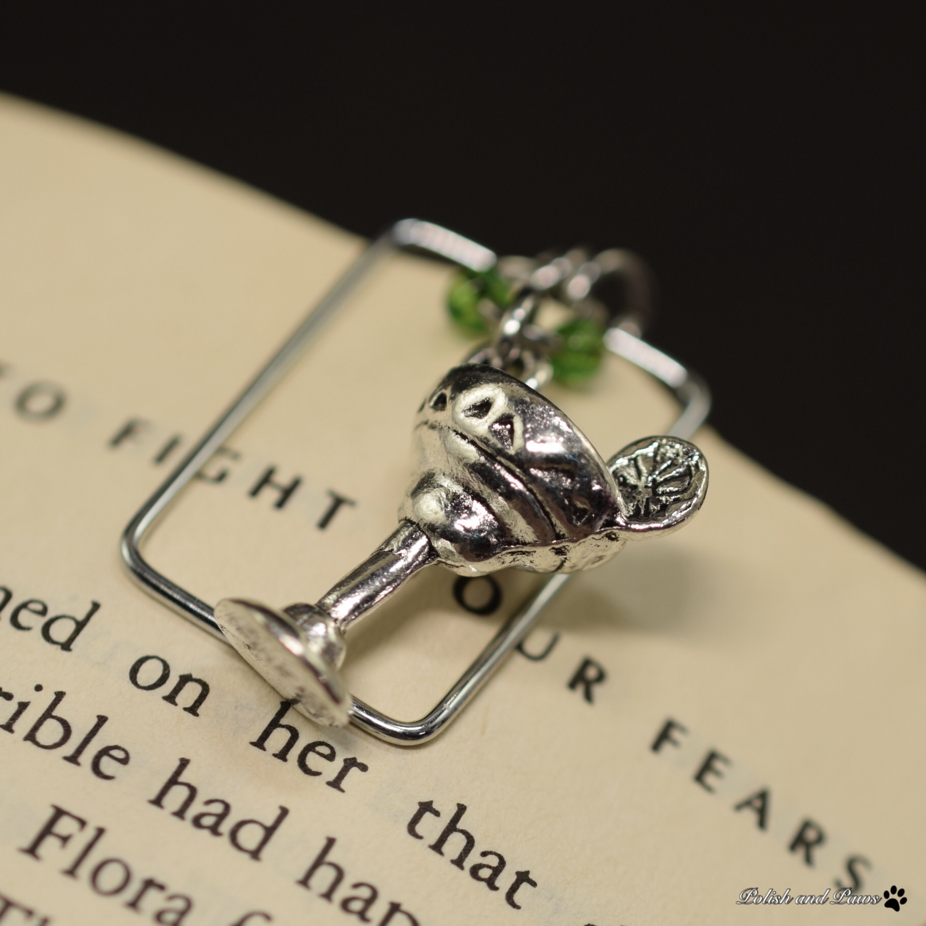 Happy Hour Charm and Page Marker Set